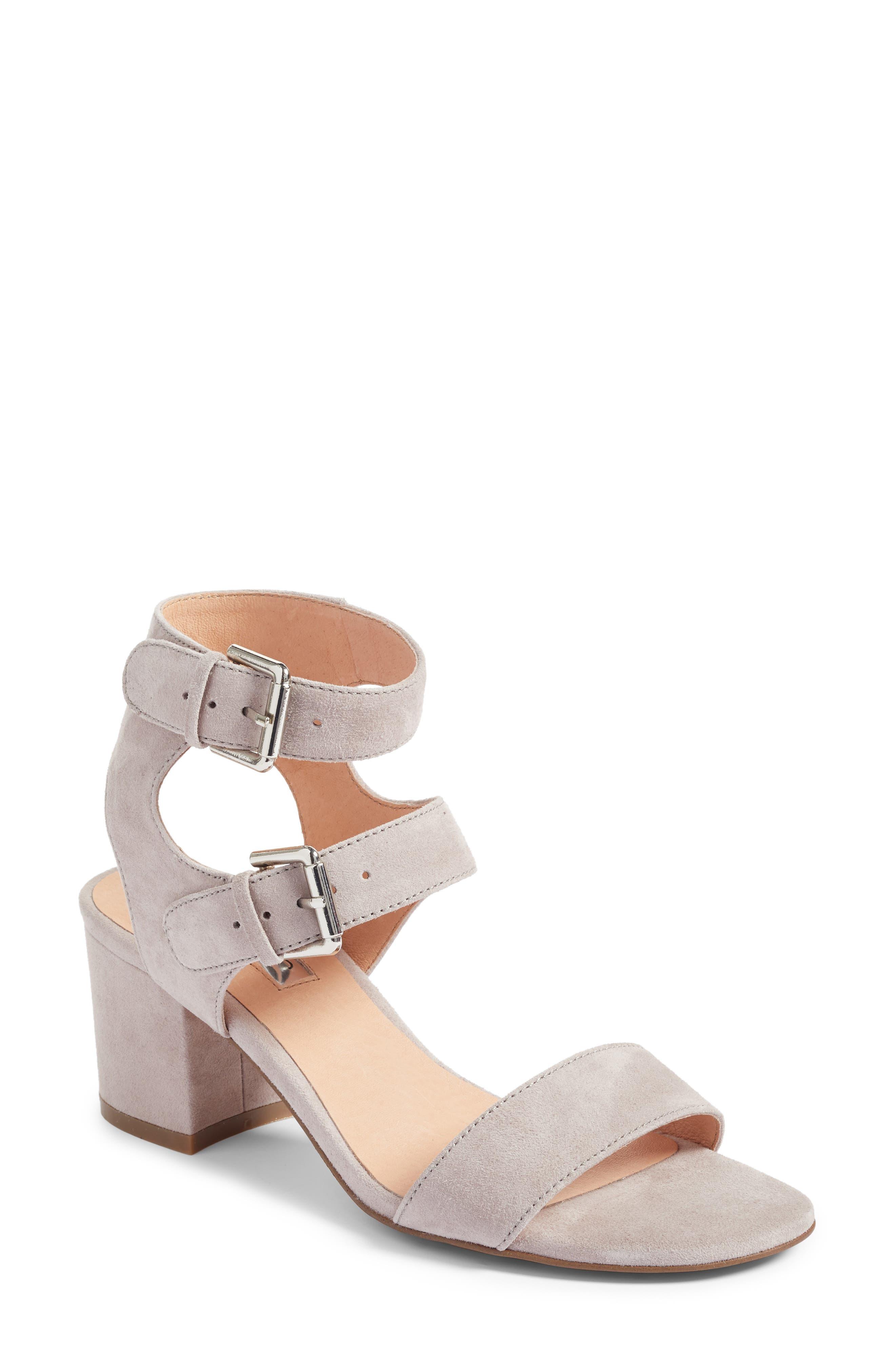 Halogen® Vickie Block Heel Sandal (Women)