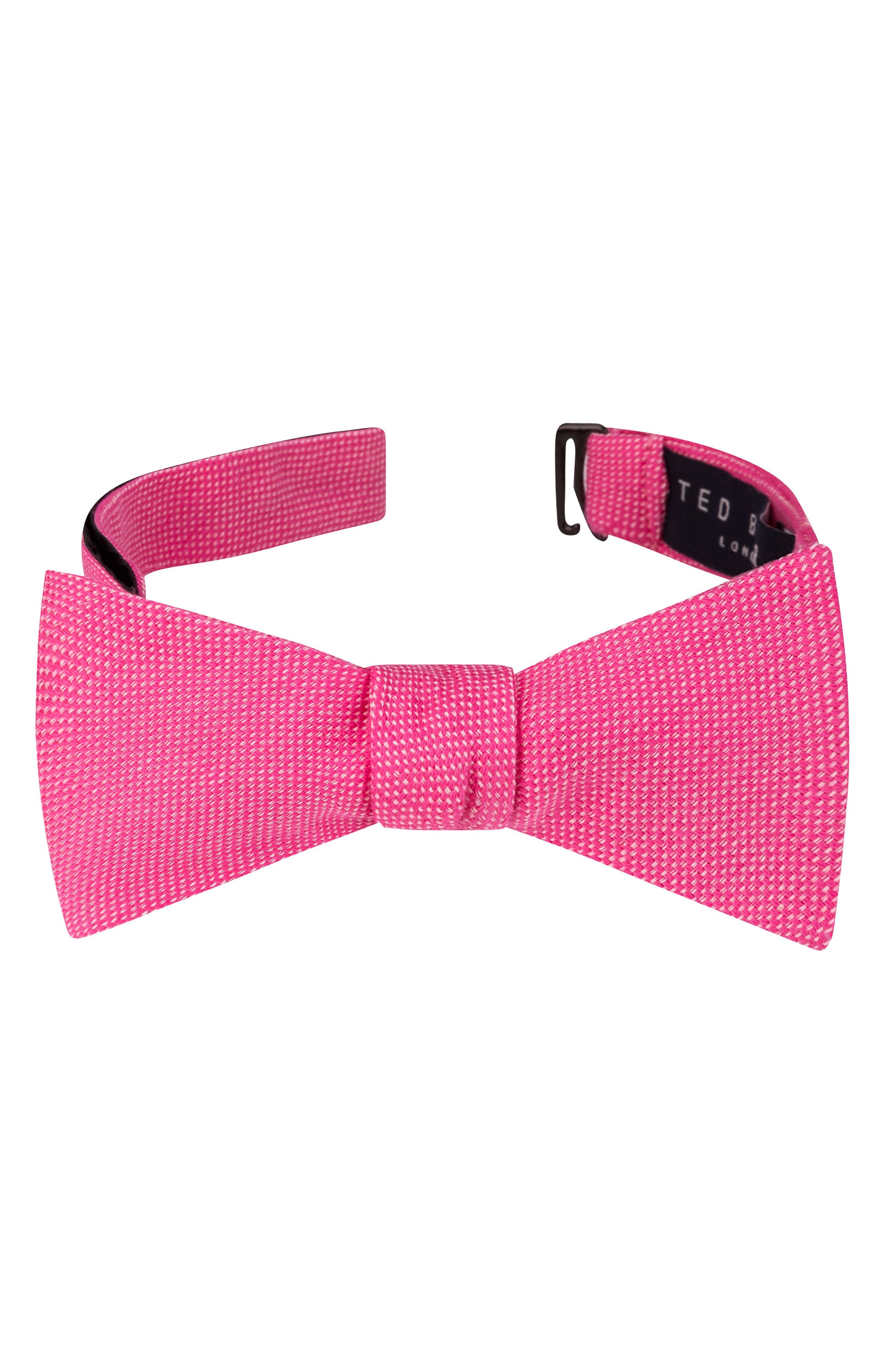 Ted Baker London Solid Cotton Bow Tie