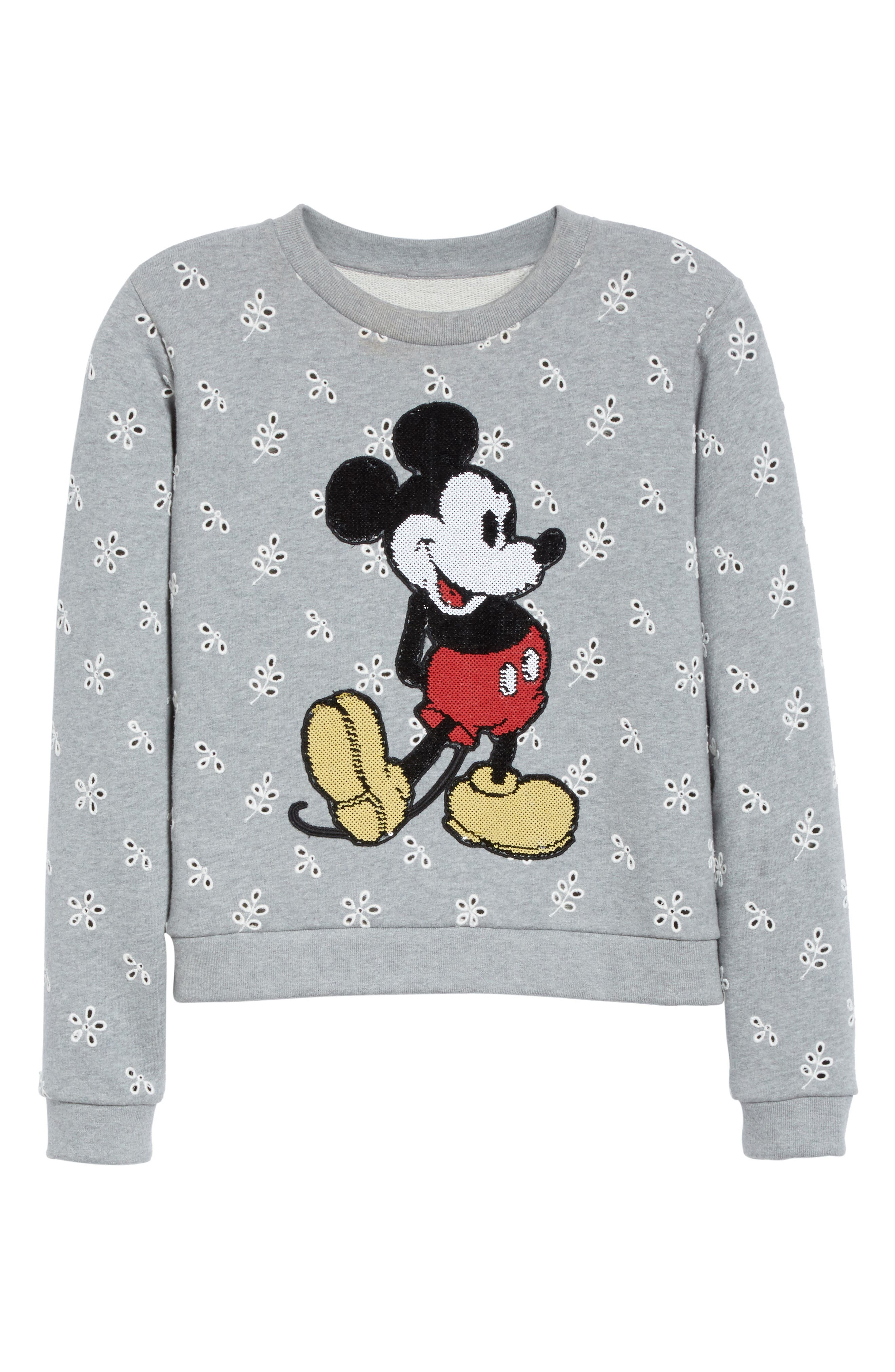 Alternate Image 4  - MARC JACOBS Embellished Mickey Shrunken Sweatshirt