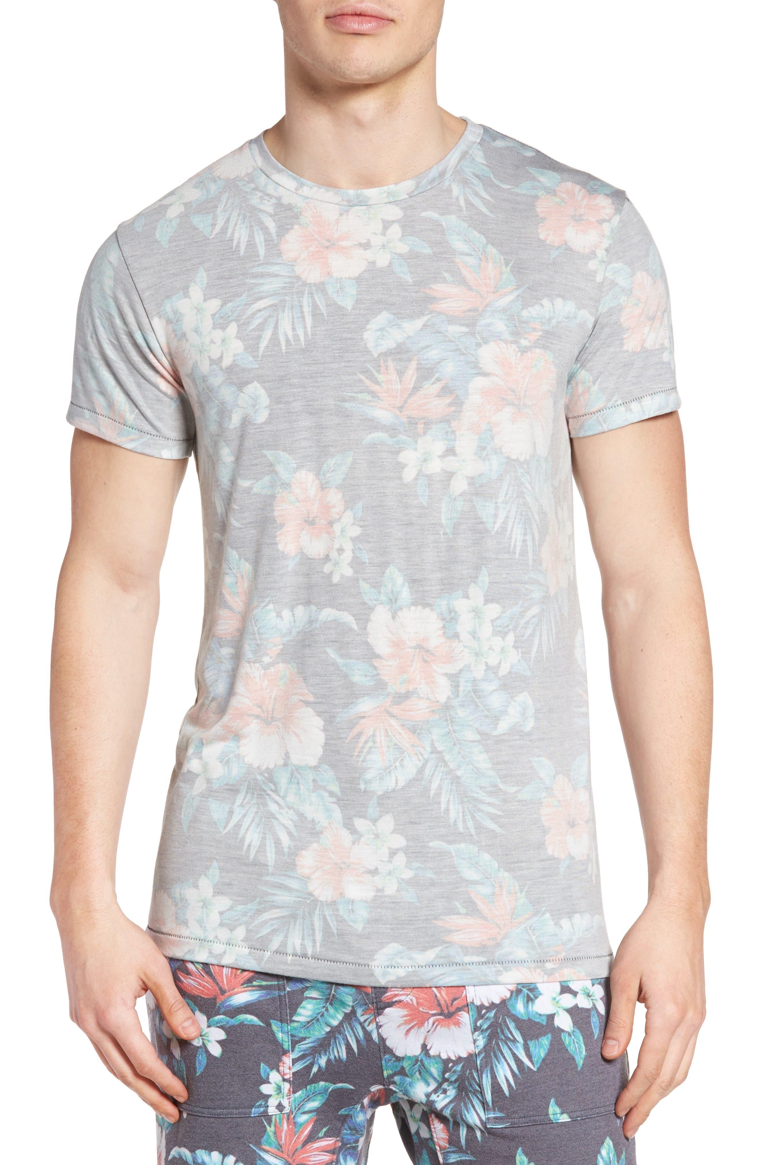 Sol Angeles Palmita Floral Print T-Shirt