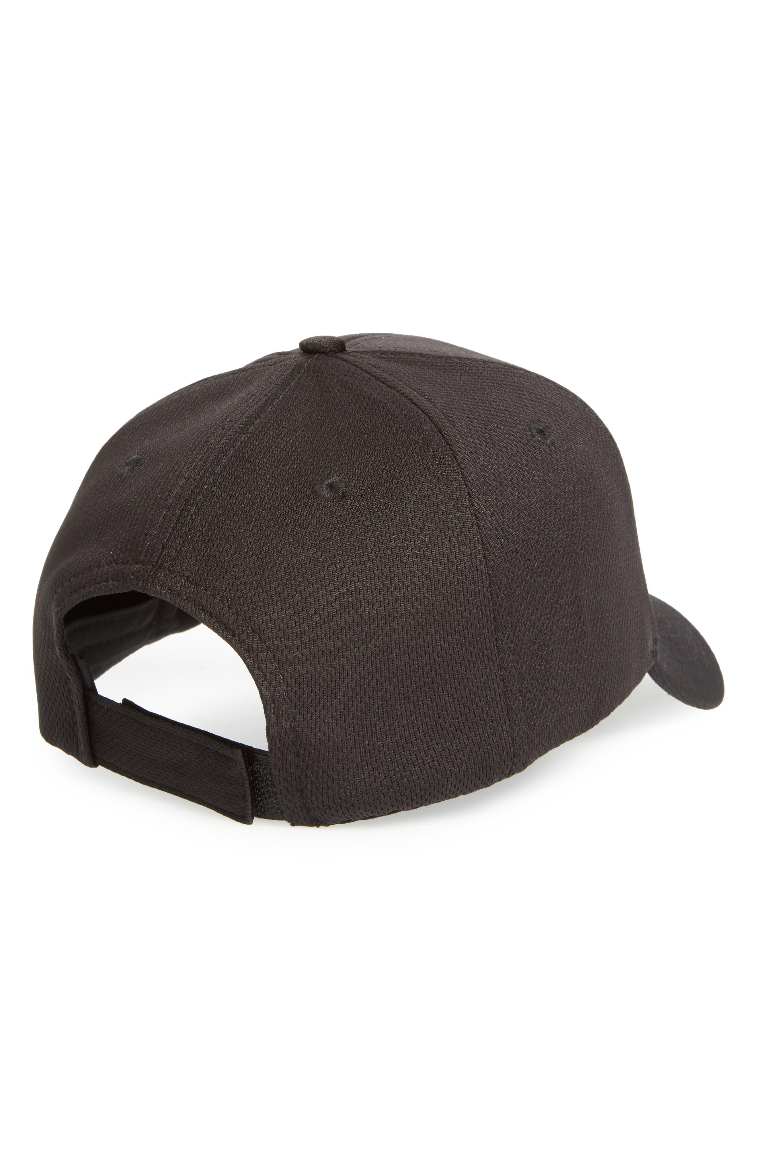 Alternate Image 2  - Topshop Airtex Peak Baseball Cap