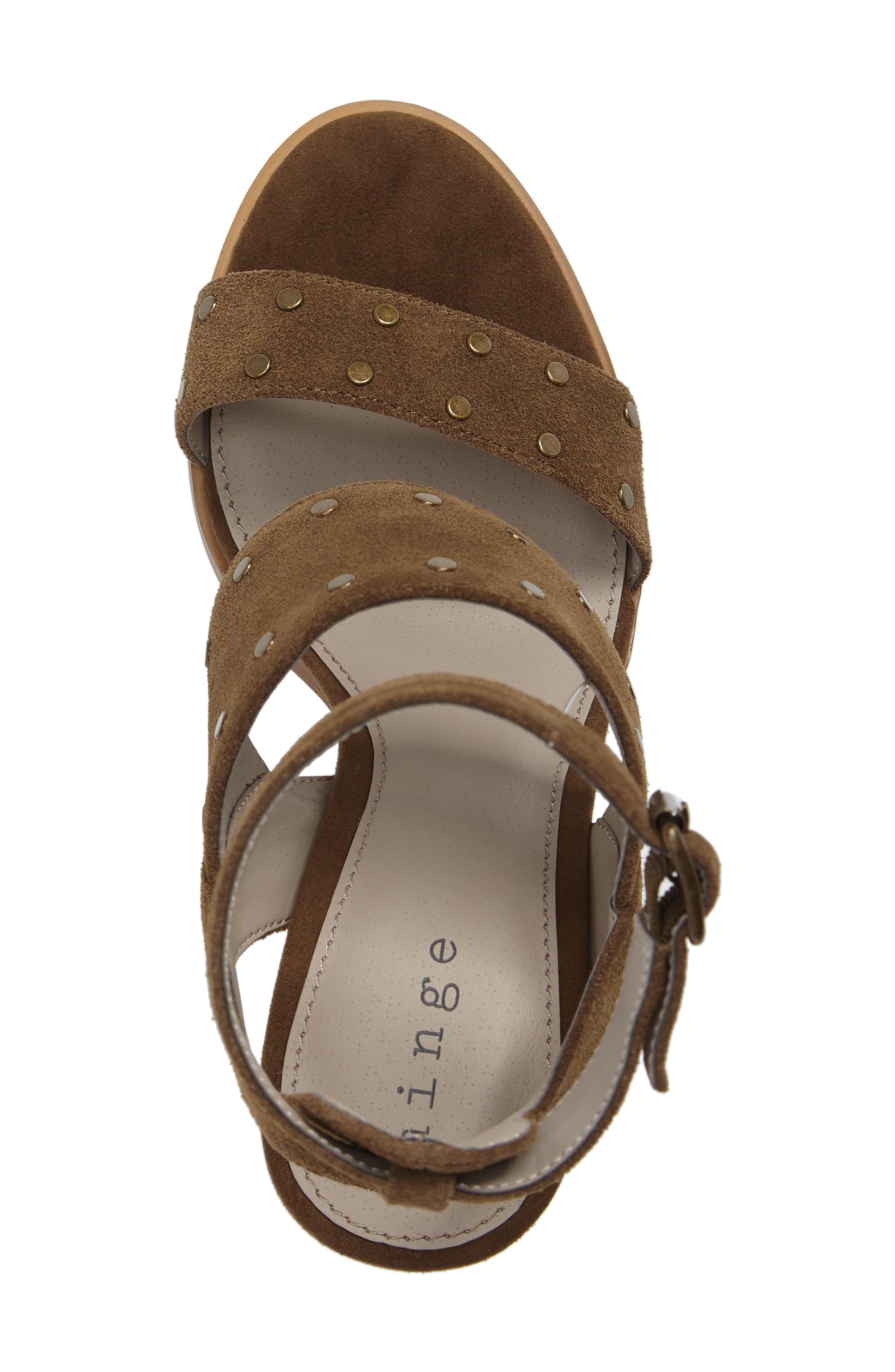 Alternate Image 5  - Hinge Corrine Ankle Strap Sandal (Women)