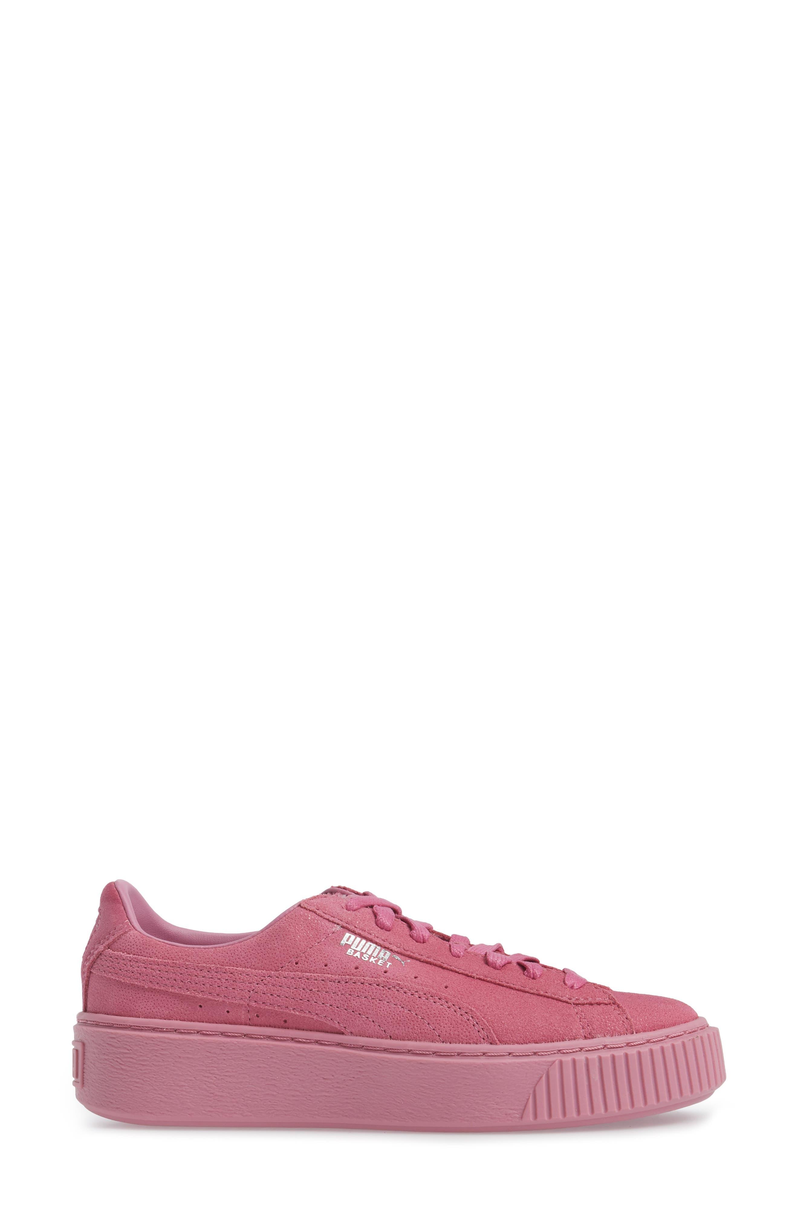Alternate Image 3  - PUMA Reset Platform Sneaker (Women)