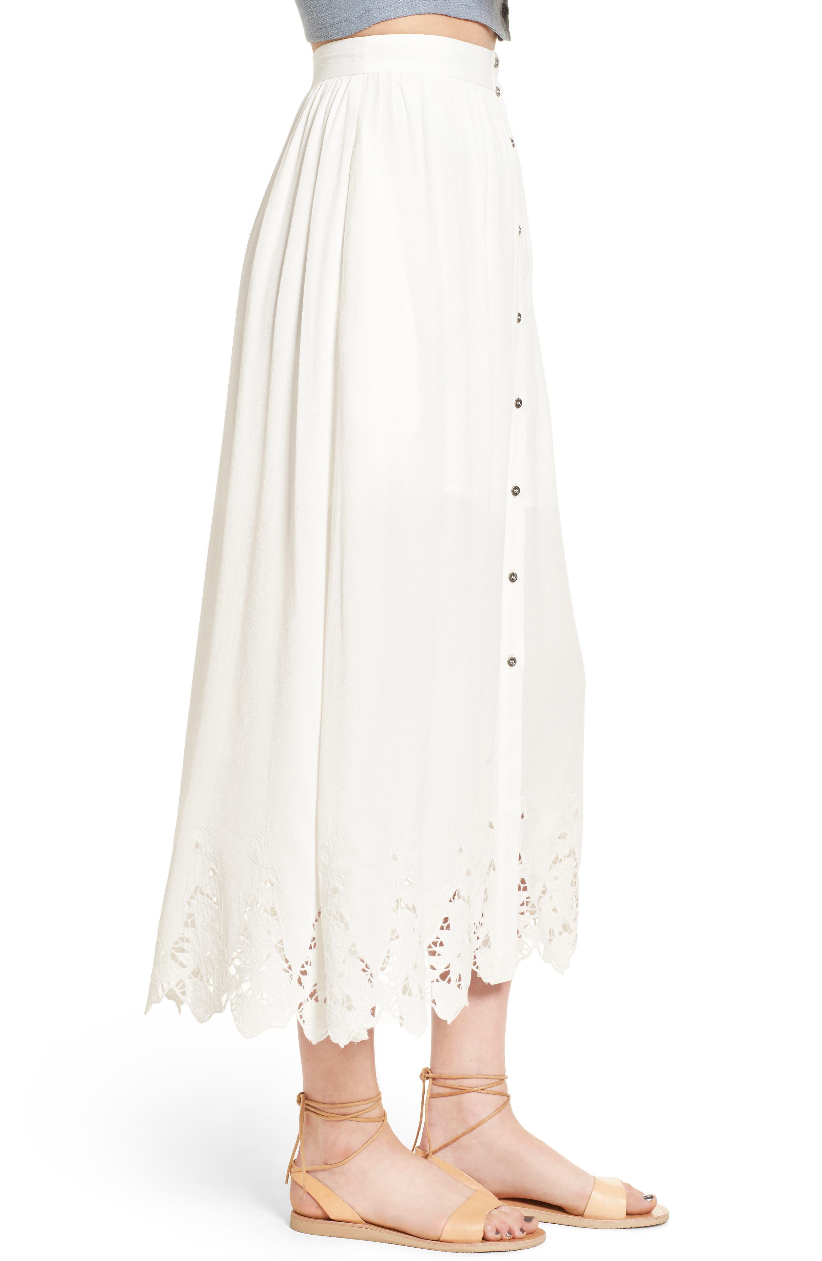 Alternate Image 4  - ASTR the Label Maxi Skirt