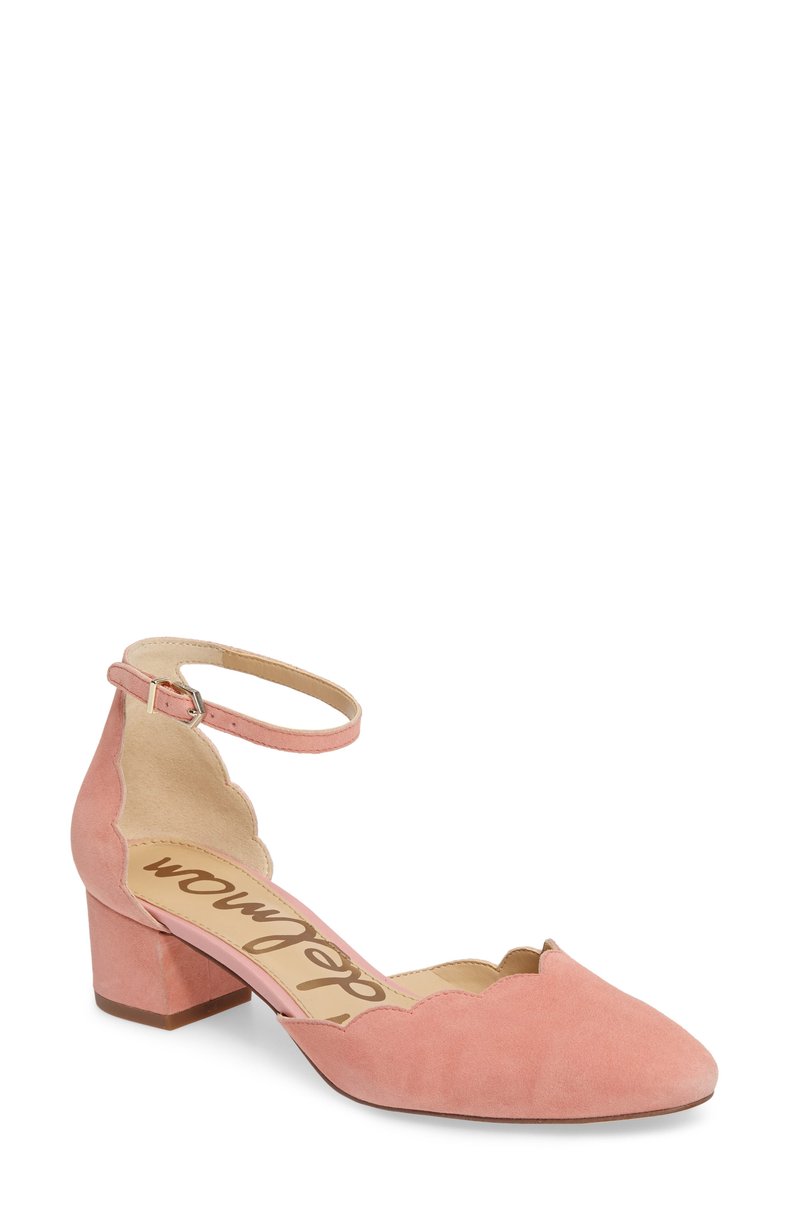 Alternate Image 1 Selected - Sam Edelman Lara Ankle Strap Pump (Women)