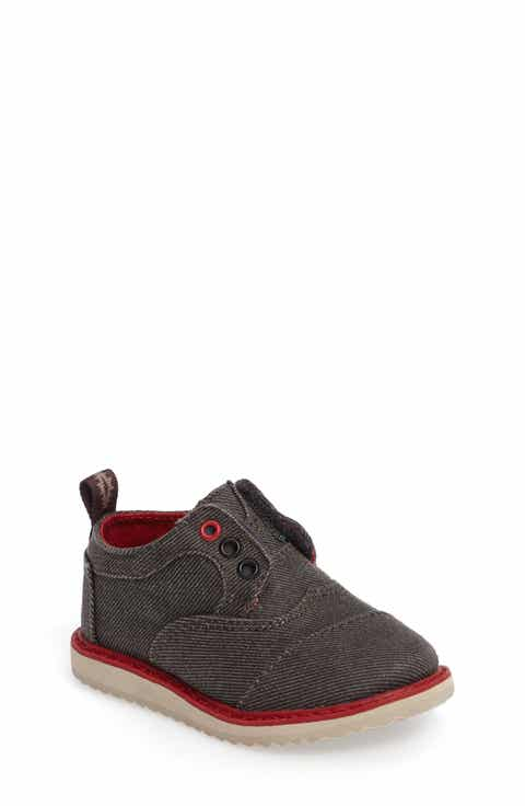 TOMS Brogue Oxford (Baby, Walker   Toddler)