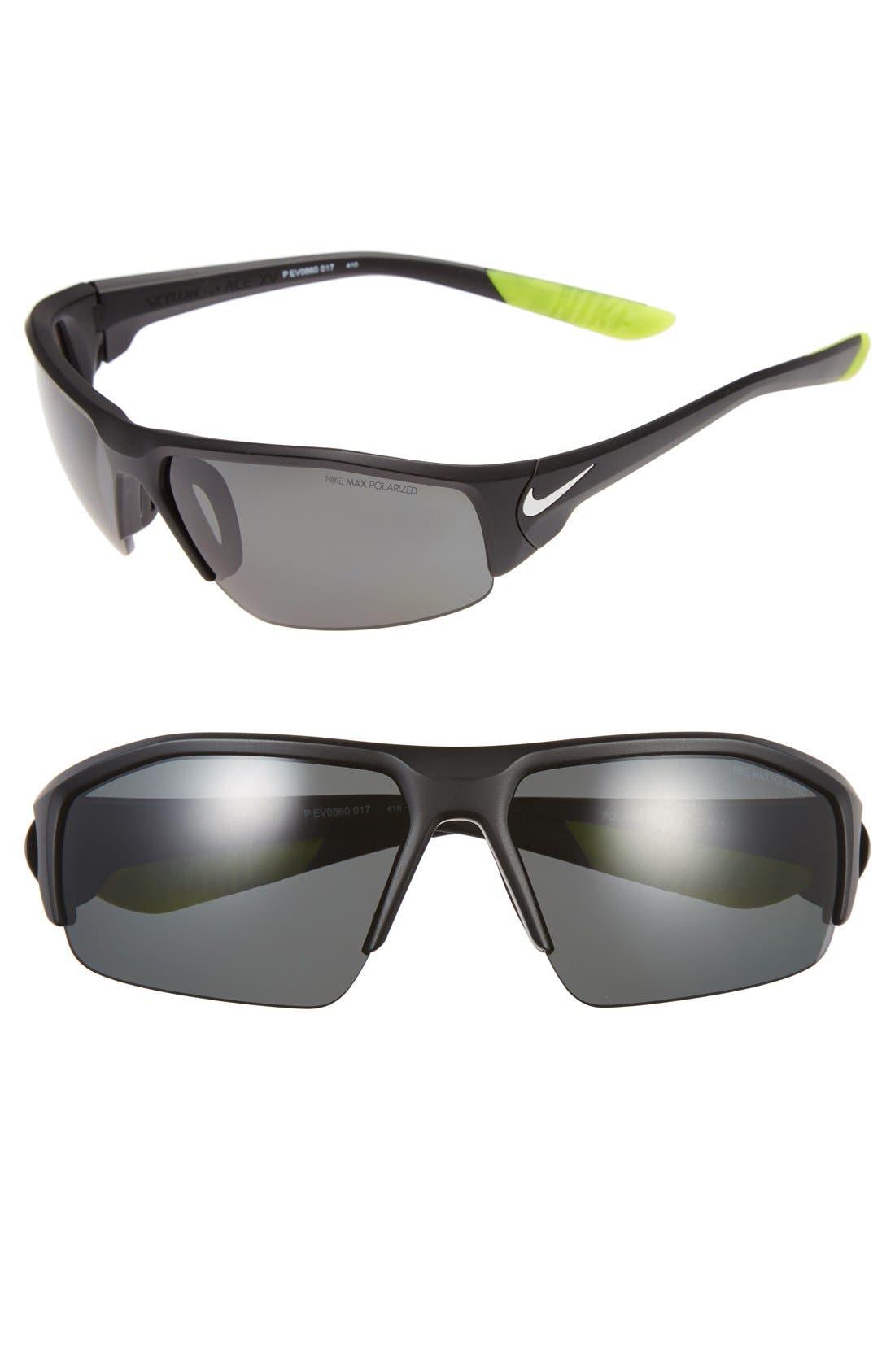 Alternate Image 1 Selected - Nike 'Skylon Ace XV' 70mm Polarized Sunglasses