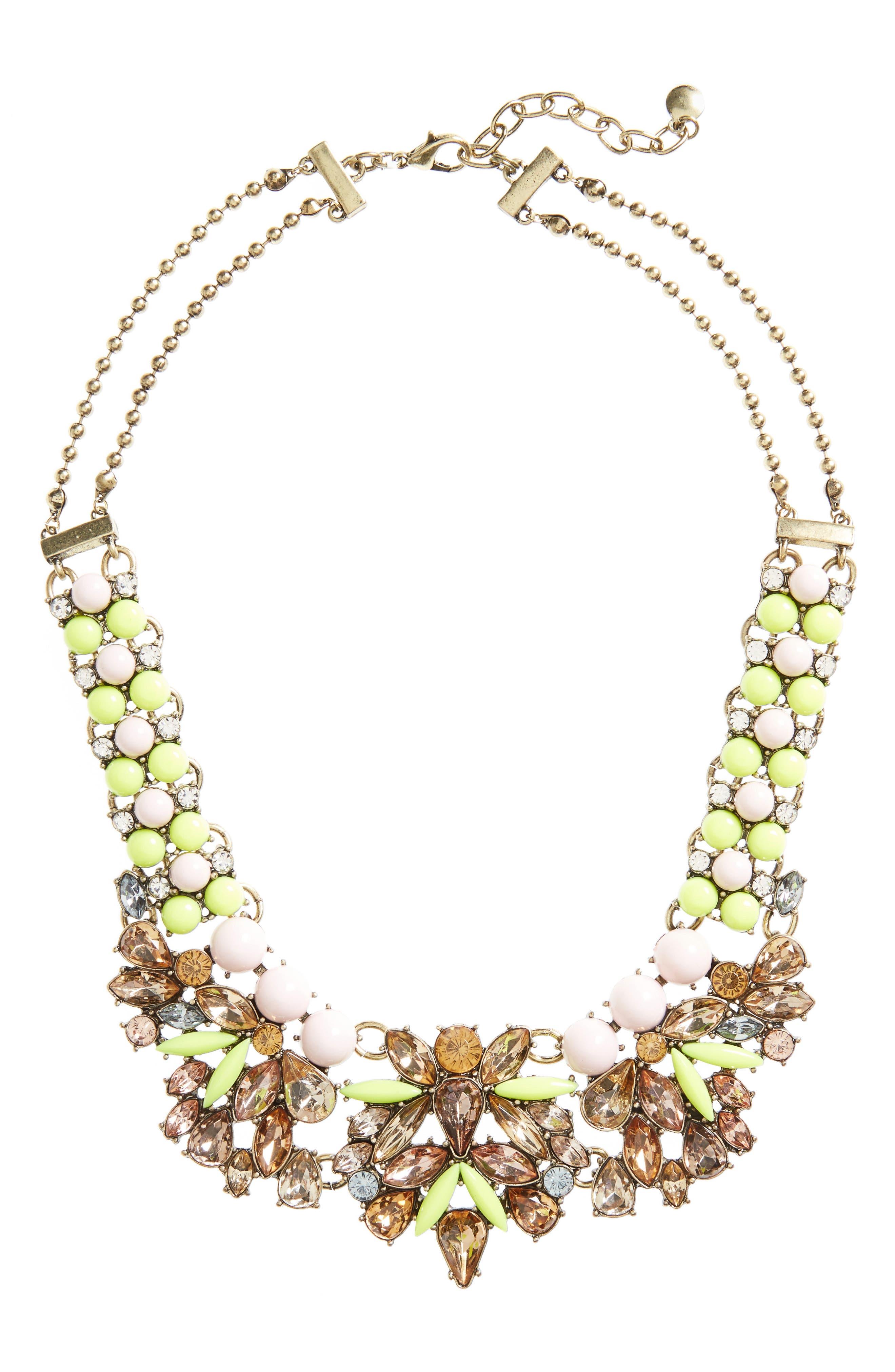 BaubleBar Azurine Bib Necklace