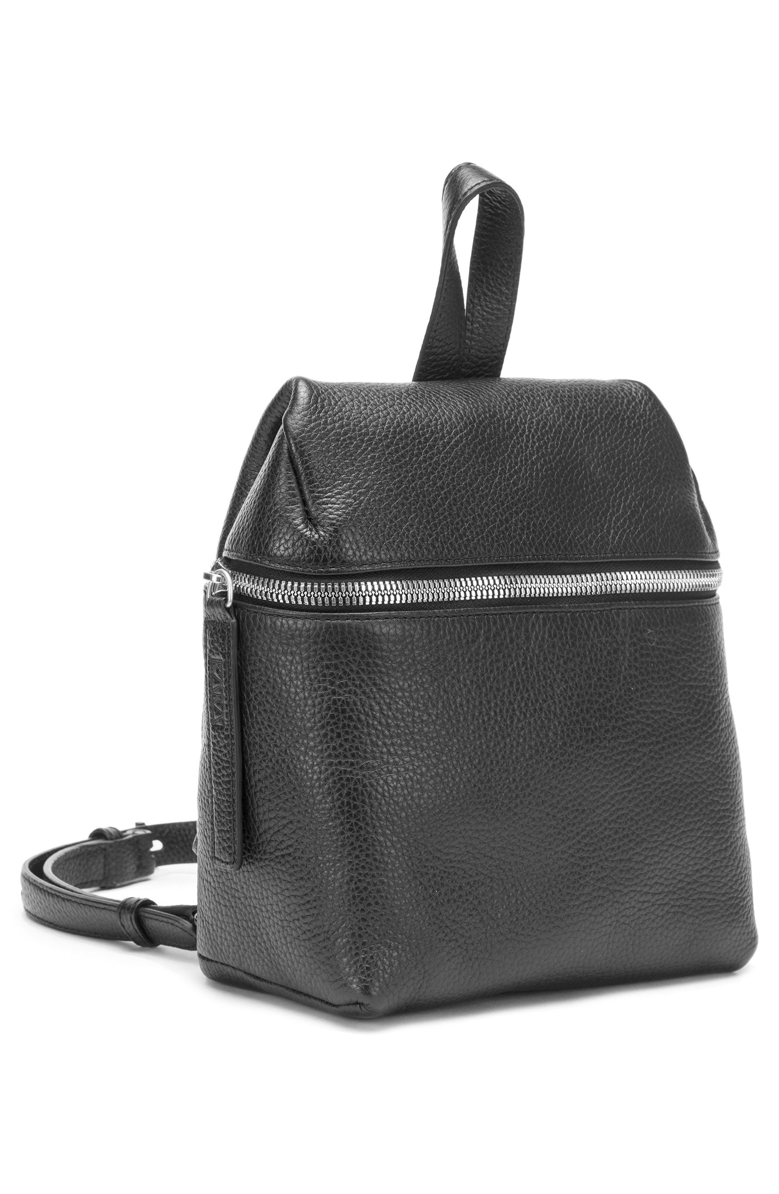 Alternate Image 3  - KARA Small Pebbled Leather Backpack