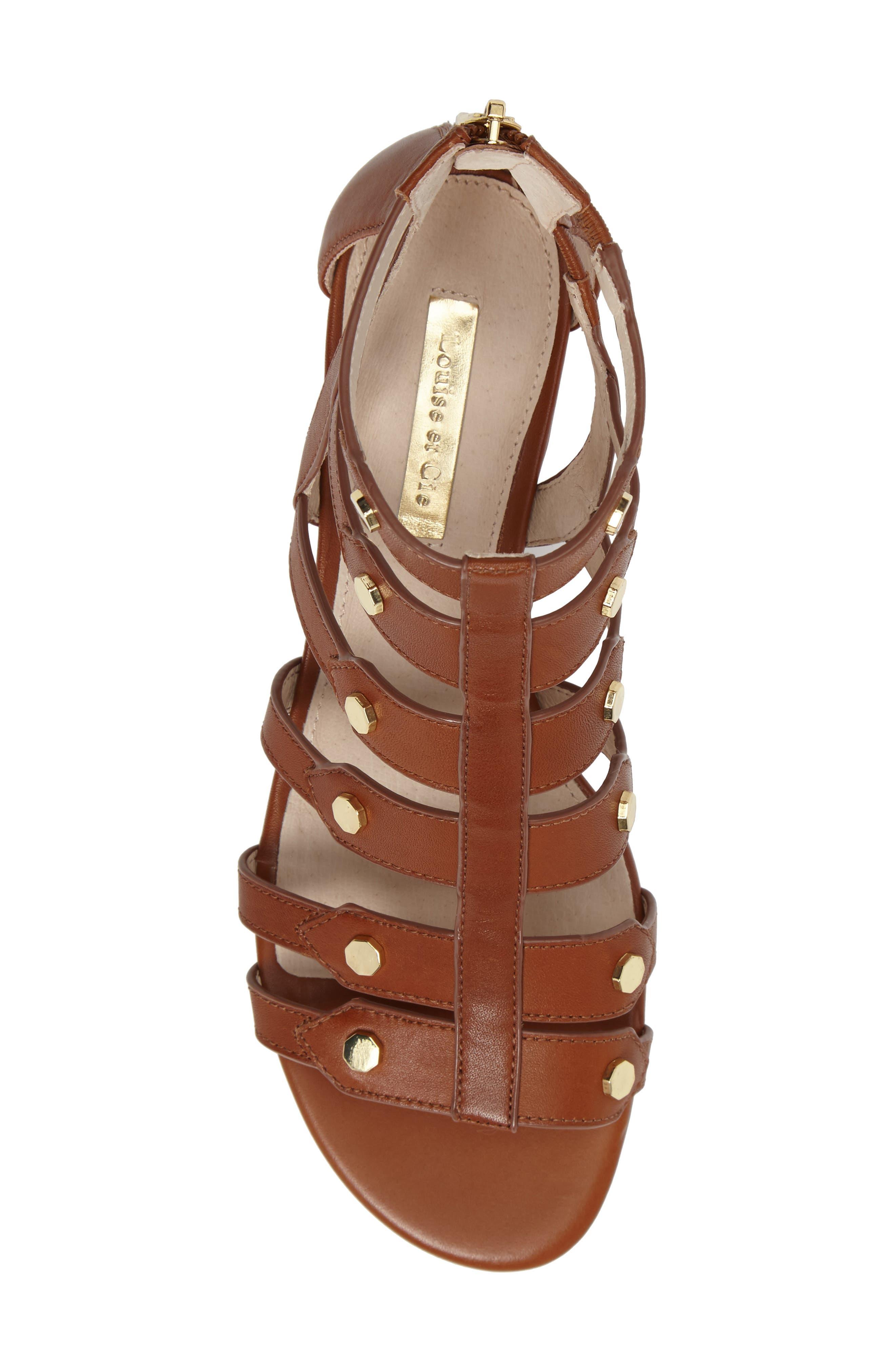 Alternate Image 5  - Louise et Cie Aria Studded Gladiator Sandal (Women)