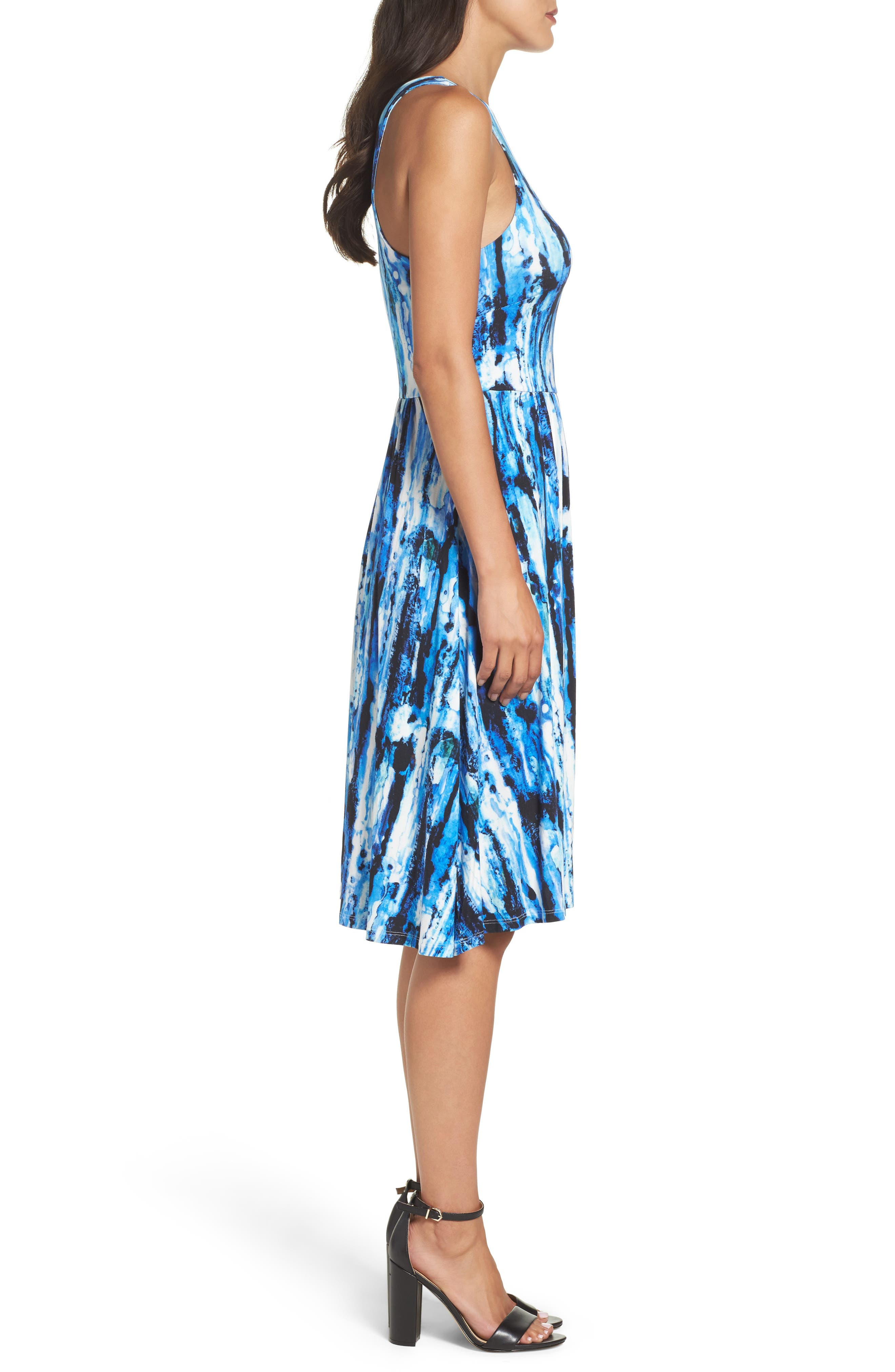 Alternate Image 3  - Felicity & Coco Print Fit & Flare Dress (Regular & Petite) (Nordstrom Exclusive)