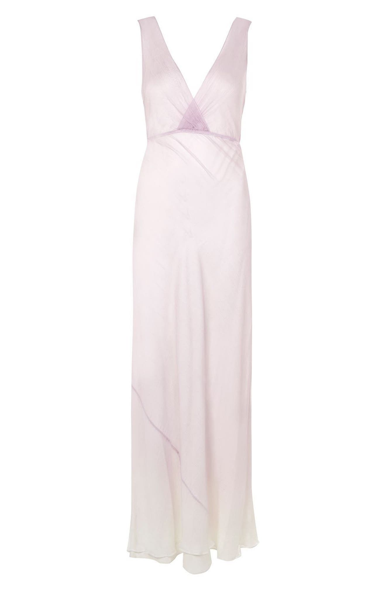 Alternate Image 6  - Topshop Bride Column Gown