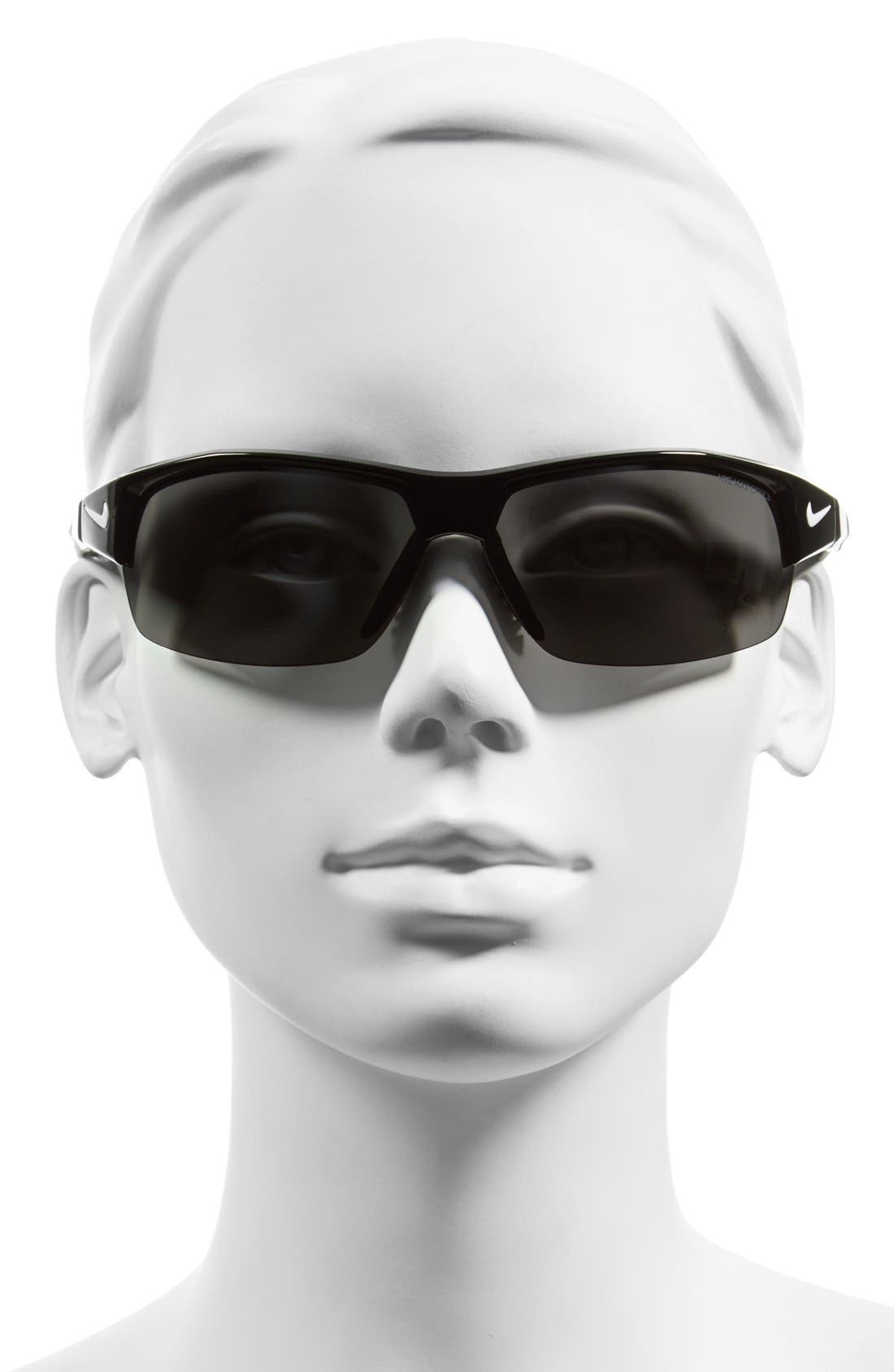Alternate Image 2  - Nike 69mm 'Show X2' Semi Rimless Sunglasses