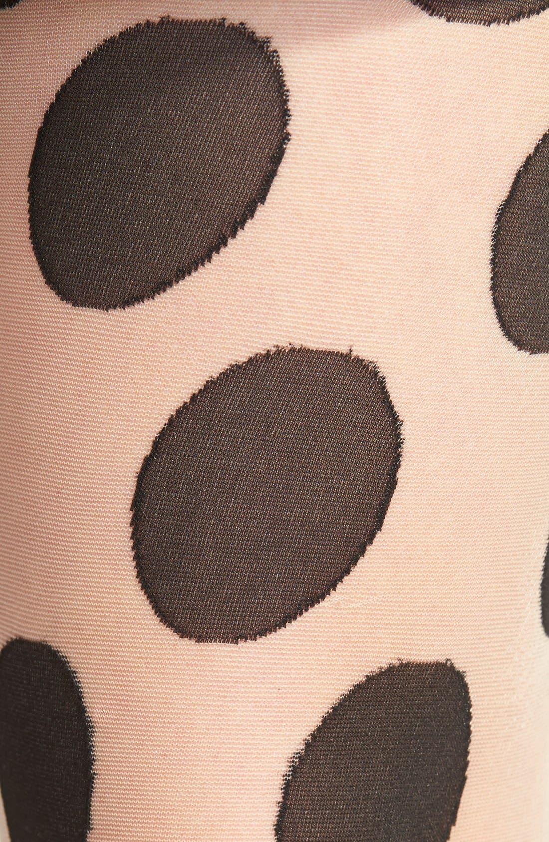 Alternate Image 2  - Hue Large Polka Dot Pattern Tights
