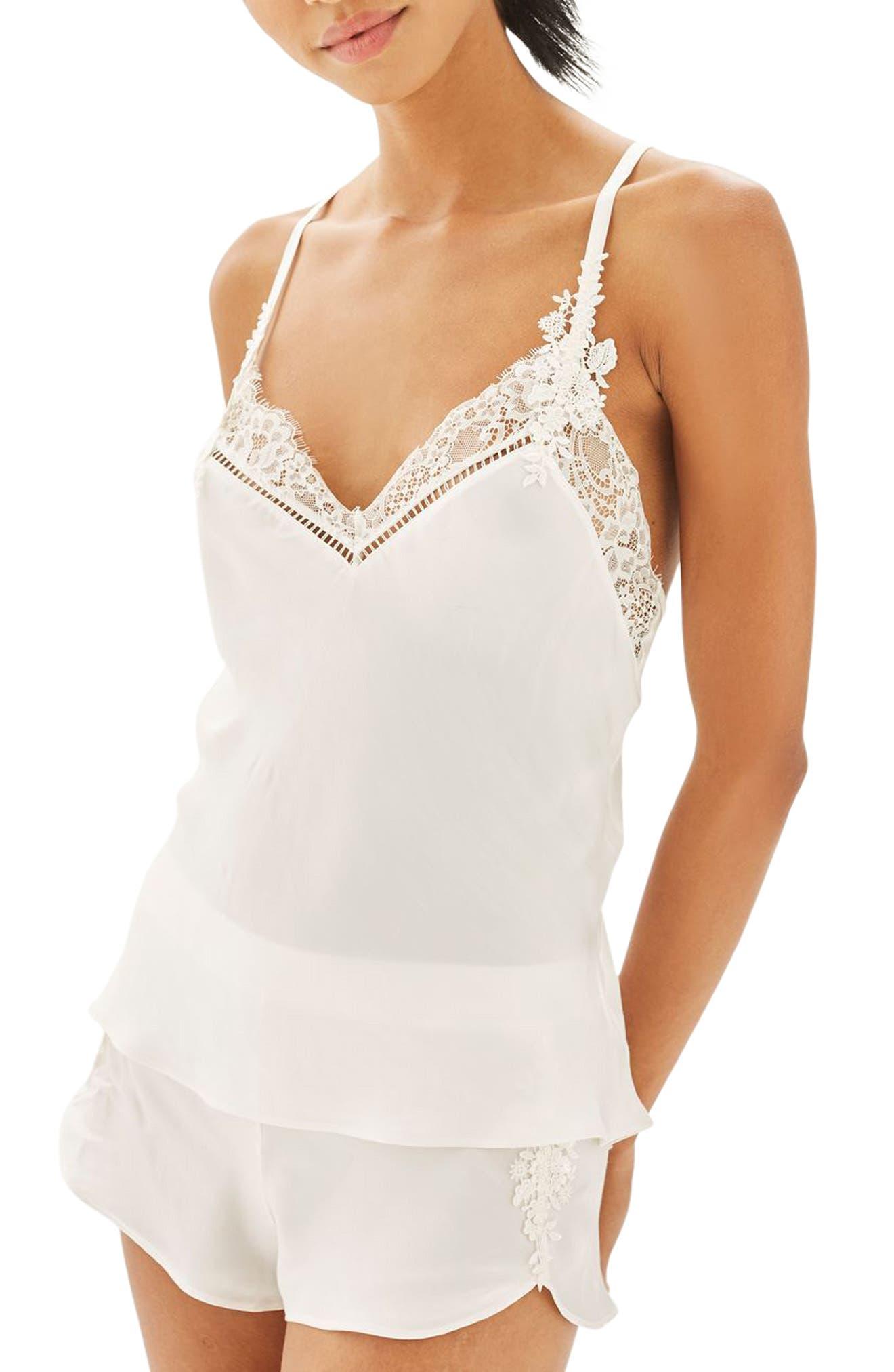 Topshop Bride La Bohemian Camisole Pajamas