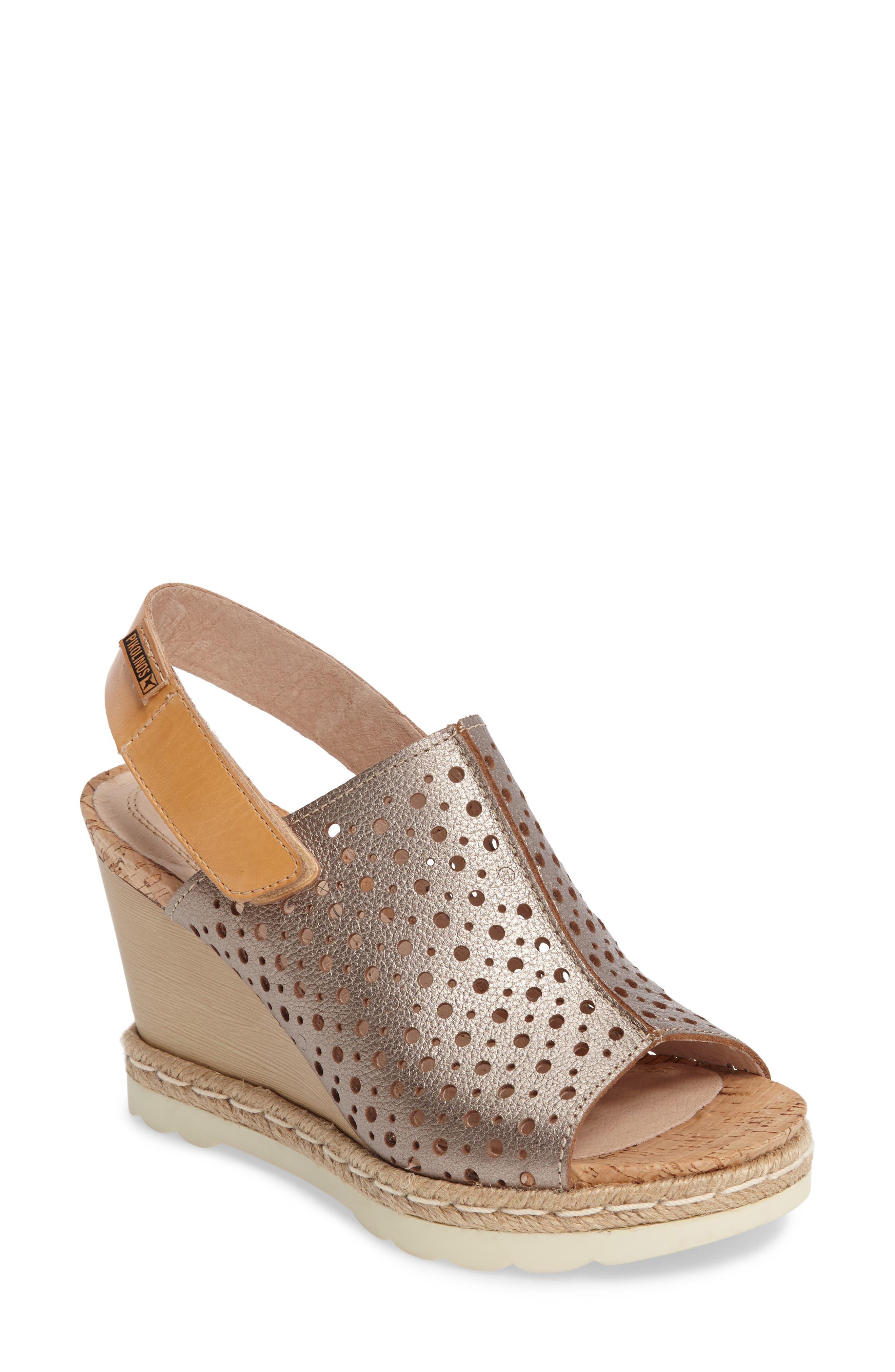 Alternate Image 1 Selected - PIKOLINOS Bali Wedge Sandal (Women)