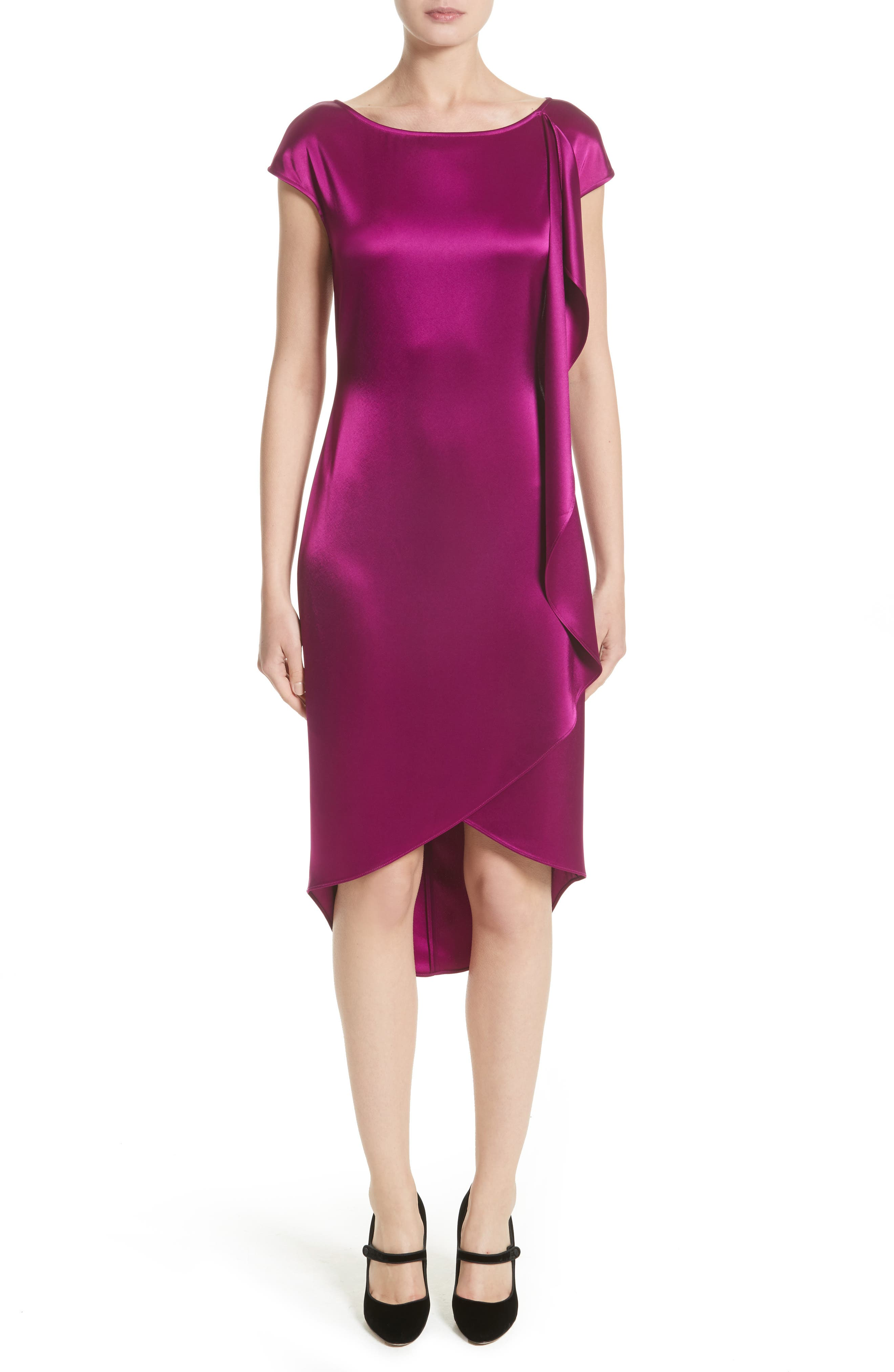 St. John Collection Liquid Satin Dress