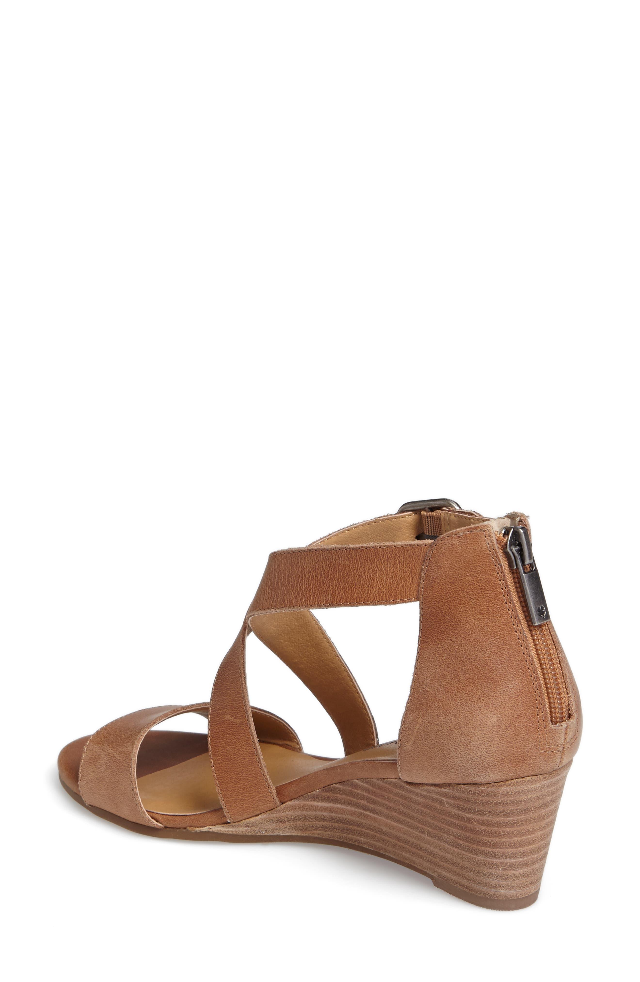Alternate Image 2  - Lucky Brand Jenley Wedge Sandal (Women)