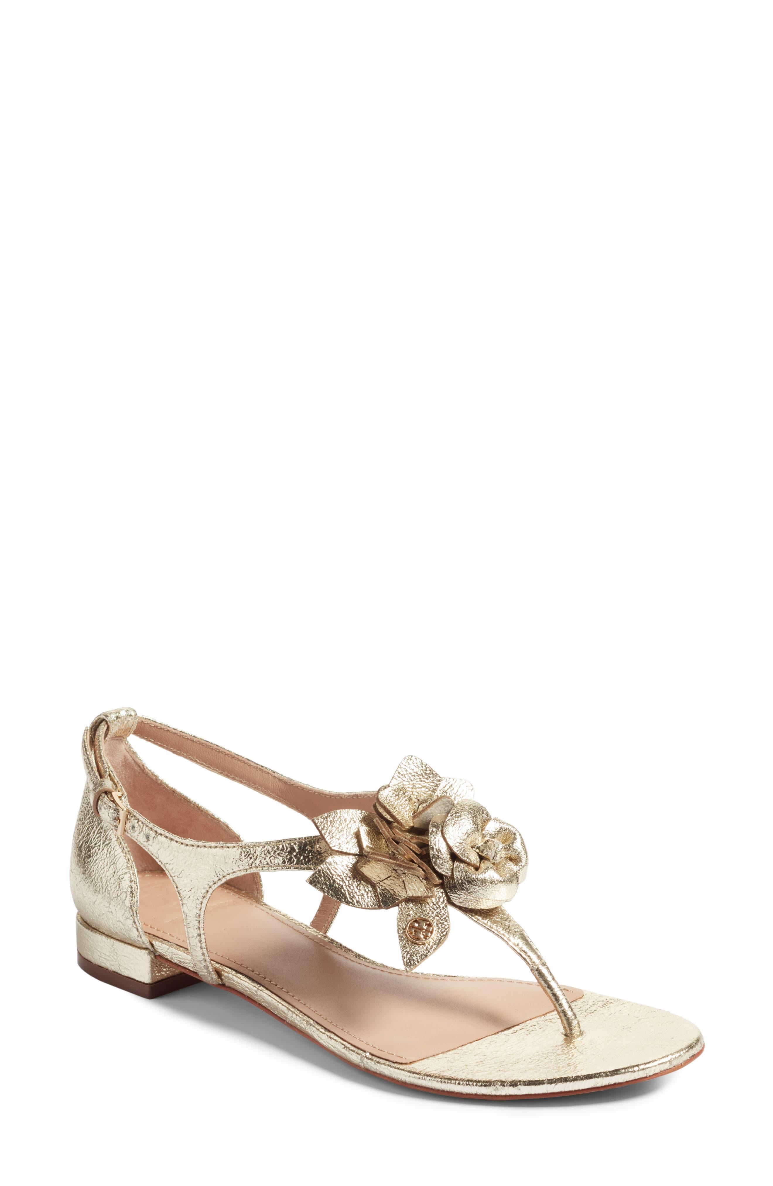 Main Image - Tory Burch Blossom Sandal (Women)