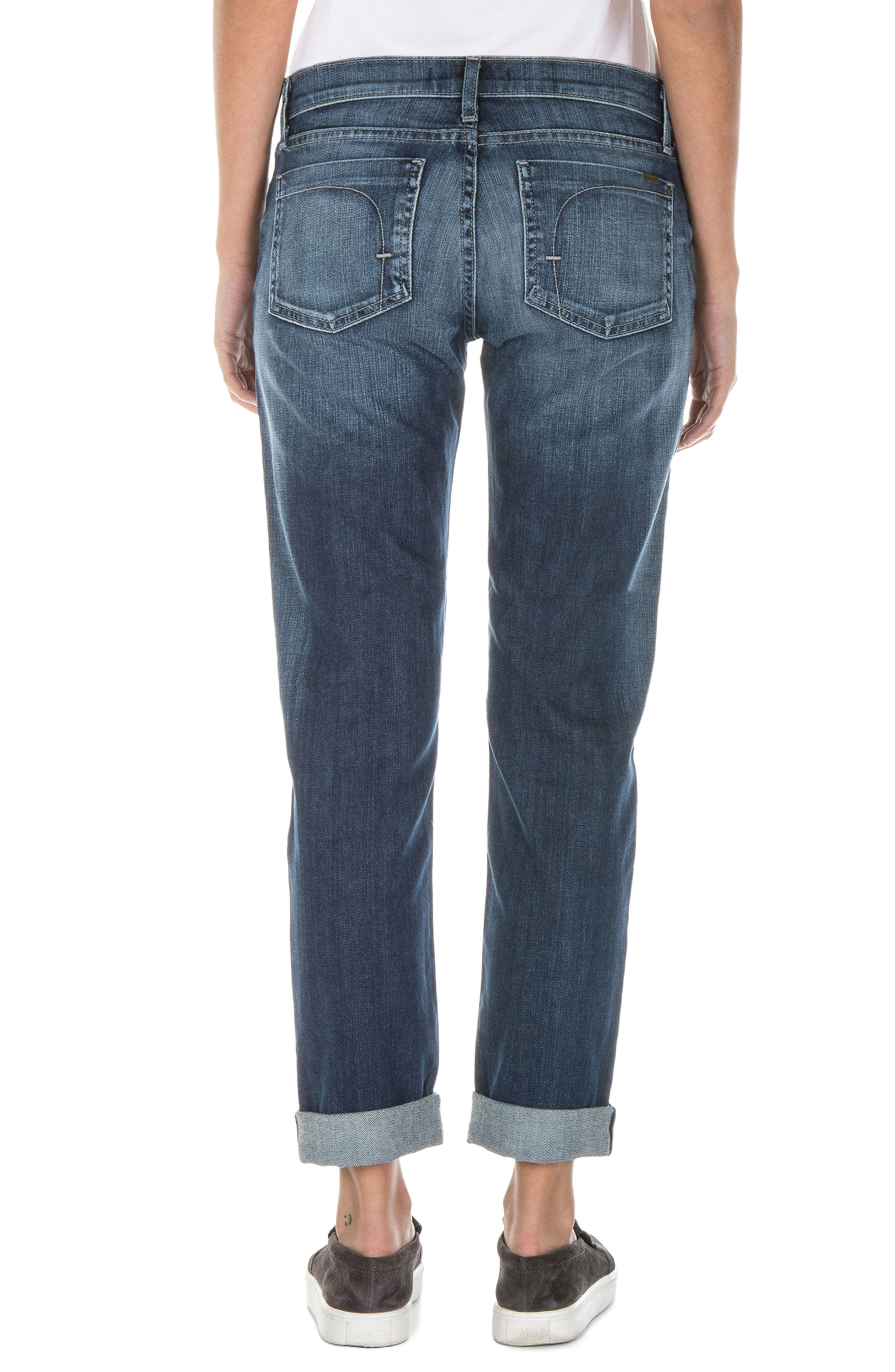 Alternate Image 3  - Fidelity Denim Axl Girlfriend Jeans (Exile Vintage)