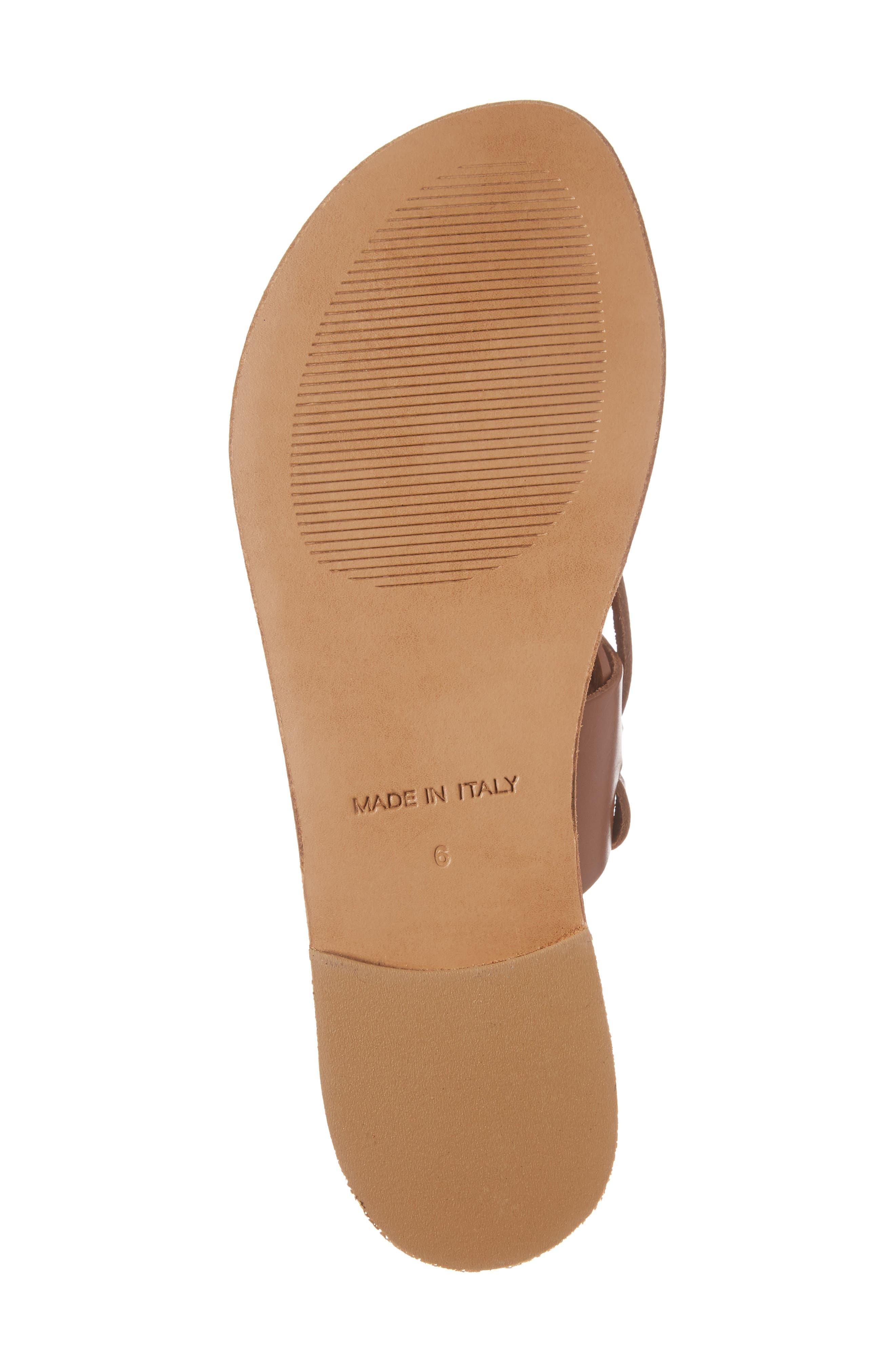 Alternate Image 6  - Steve Madden Bianca Lace-Up Sandal (Women)
