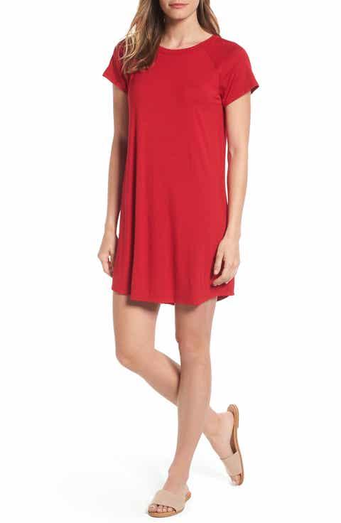 Women S Red Short Dresses Nordstrom