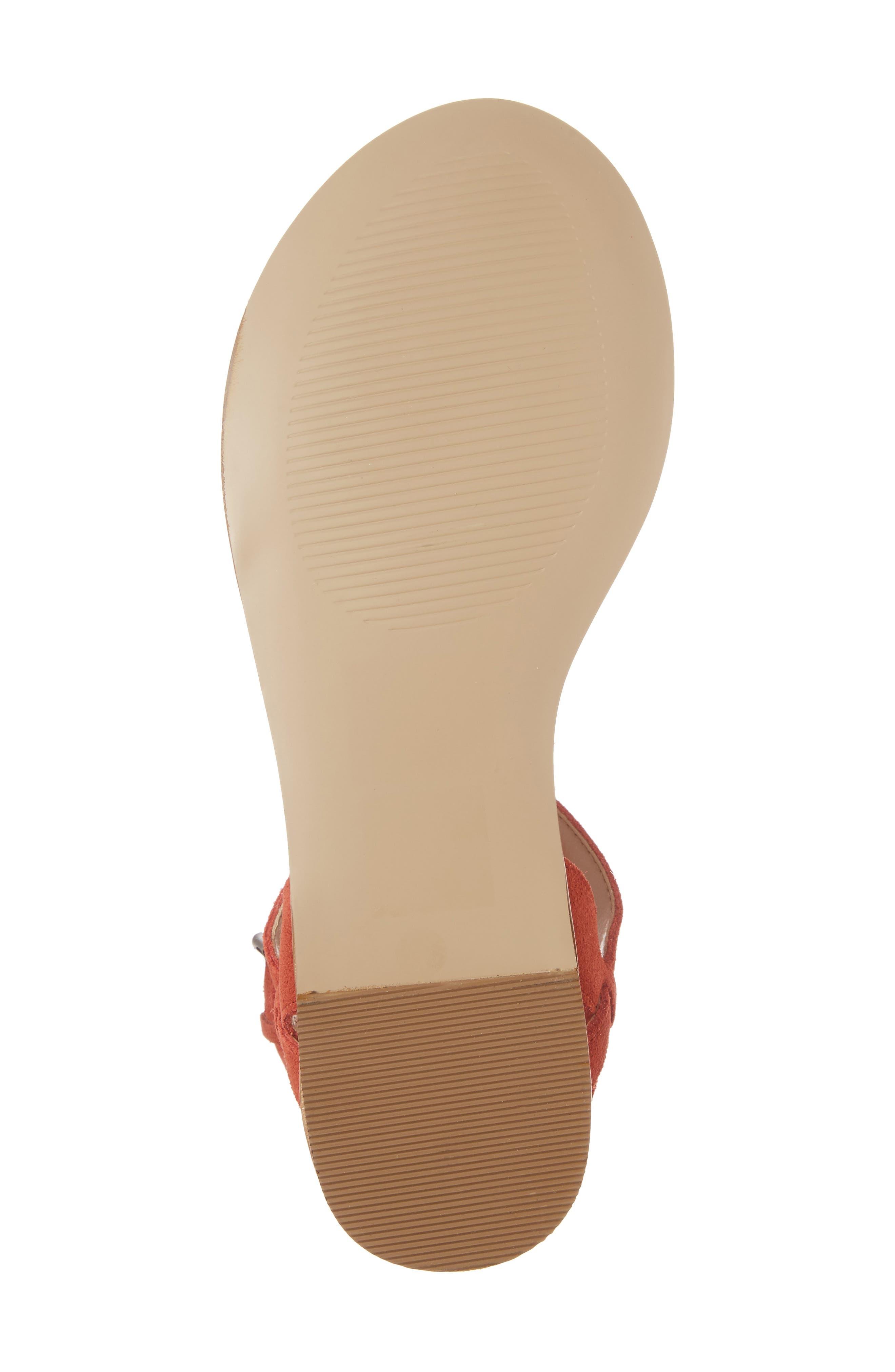 Alternate Image 6  - Sole Society 'Pandora' Fringe Sandal (Women)