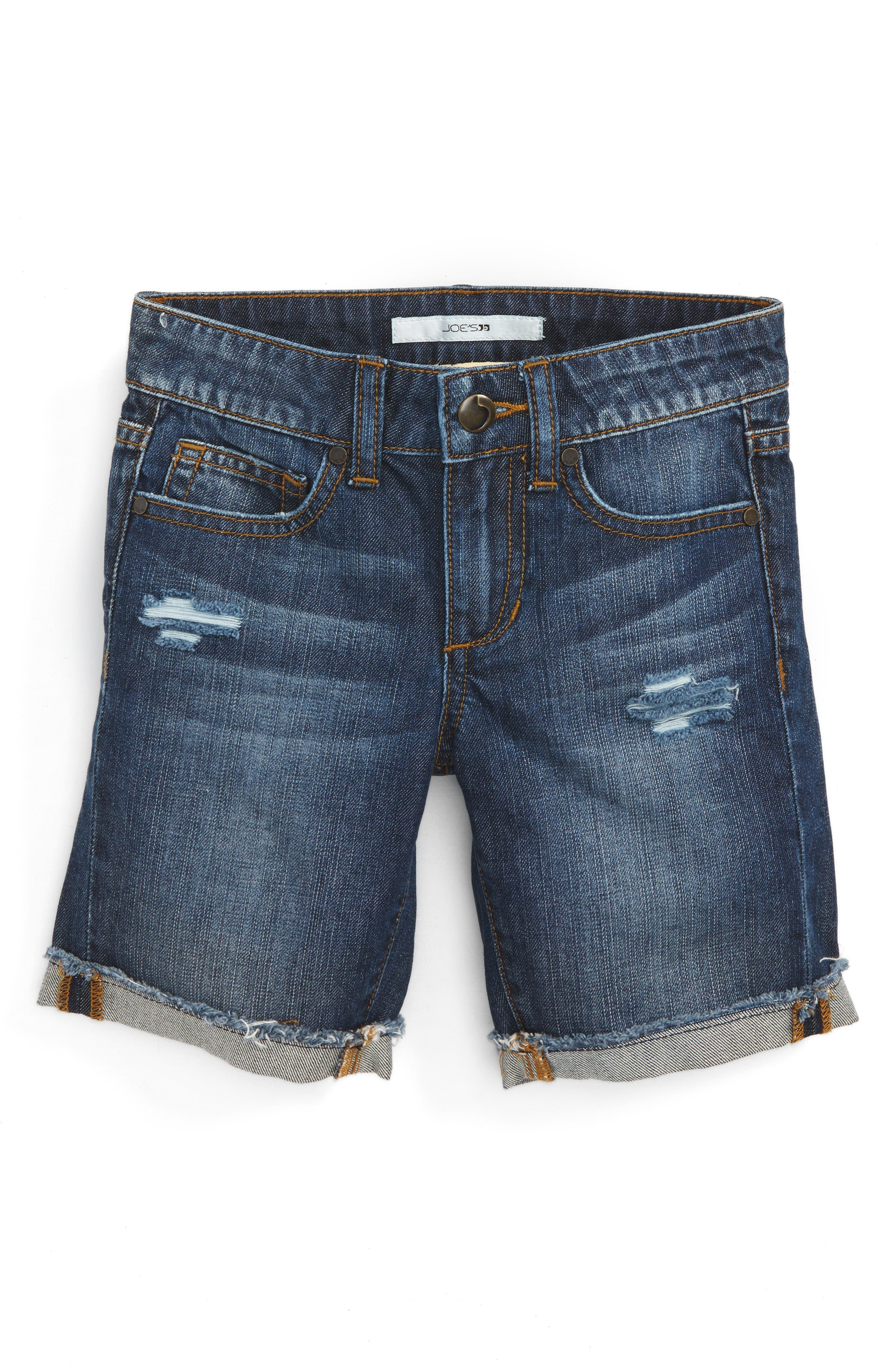 Joe's Frayed Cuff Bermuda Shorts (Toddler Girls & Little Girls)