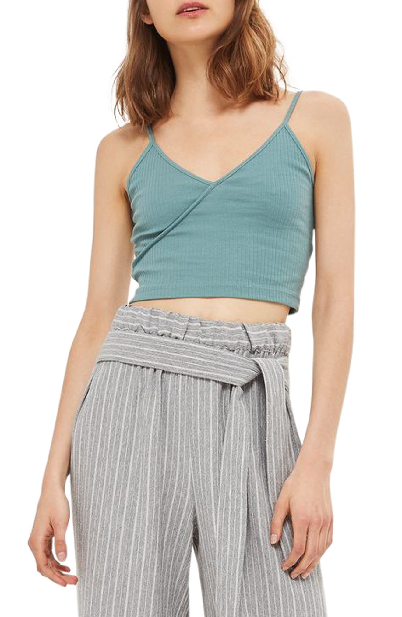 Topshop Kaia Crop Top (Regular & Petite)(2 for $18)