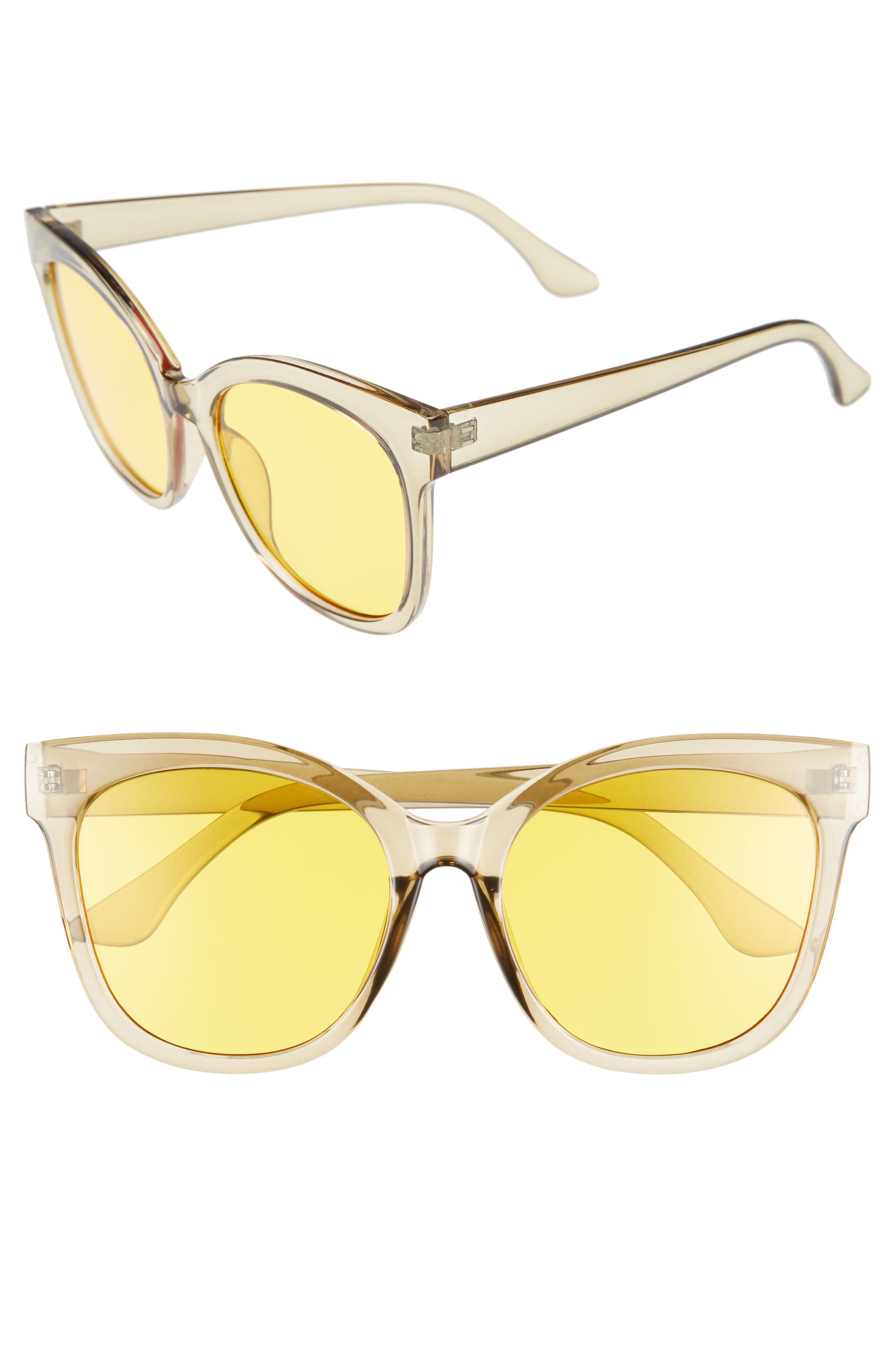 BP. Clear Sunglasses
