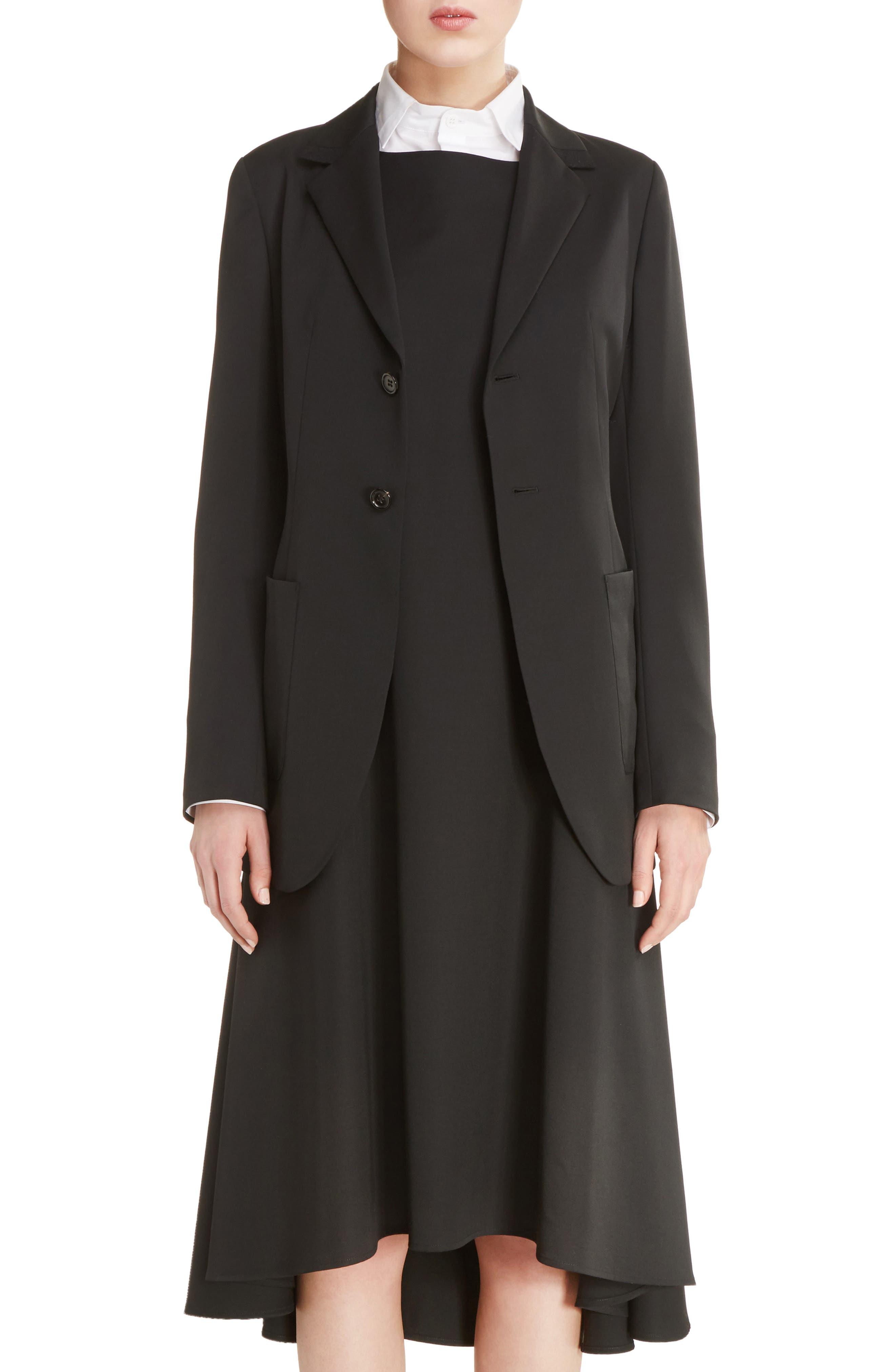 Y's by Yohji Yamamoto U-Out P Tailored Wool Jacket