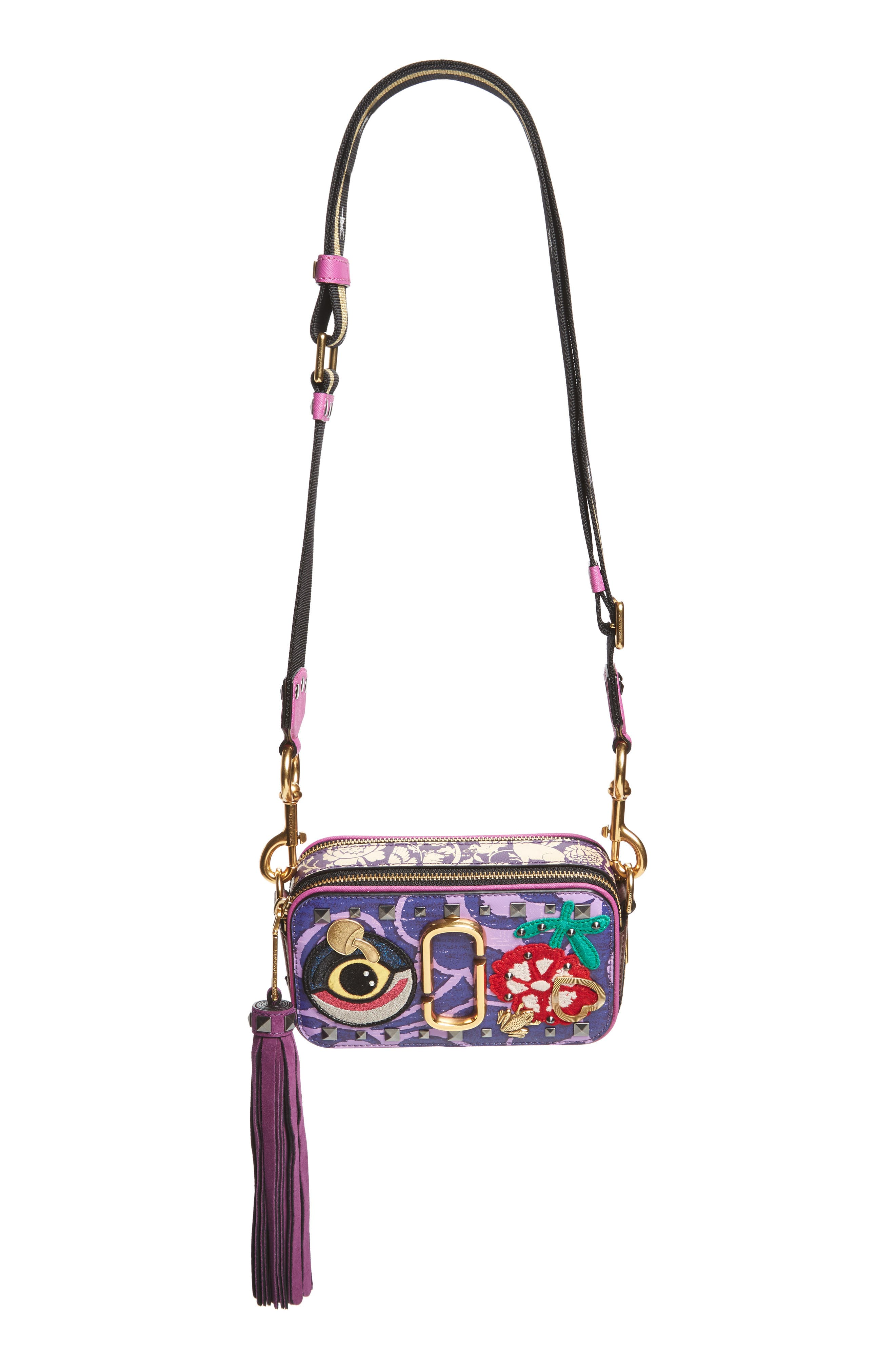 MARC JACOBS Tapestry Snapshot Crossbody Bag