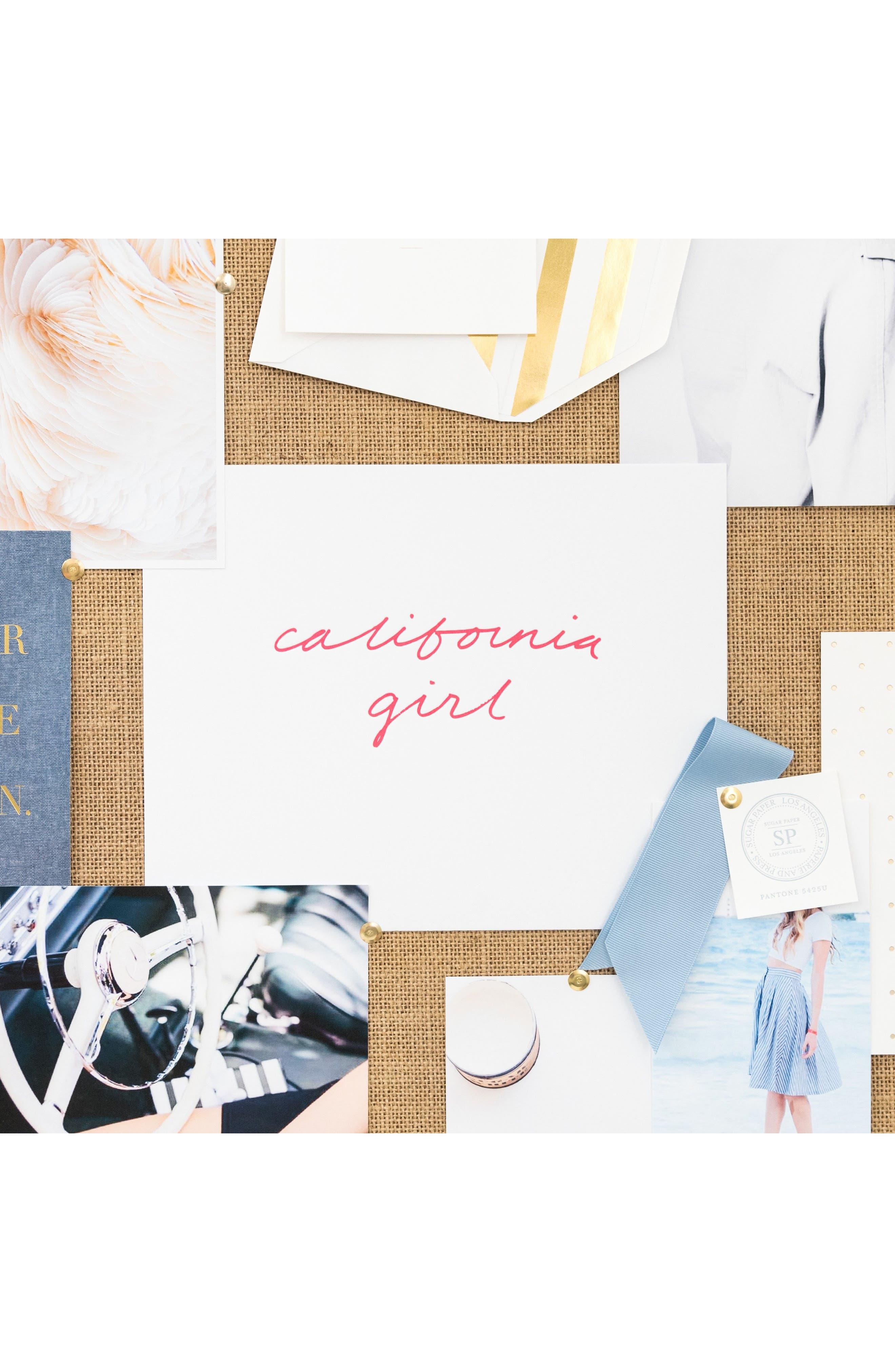 Alternate Image 3  - sugar paper California Girl Art Print
