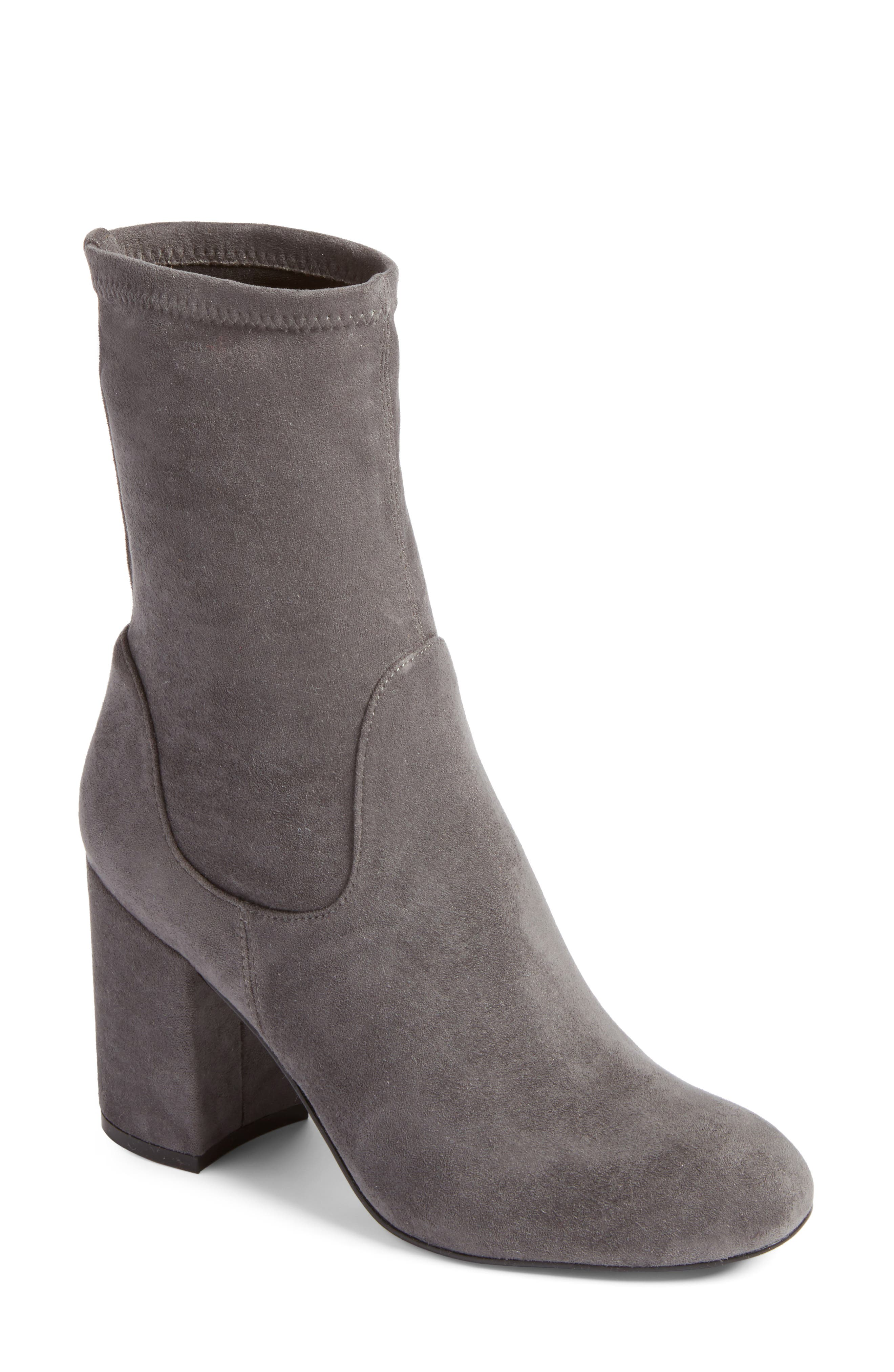 Halogen® Jacy Stretch Sock Bootie (Women)