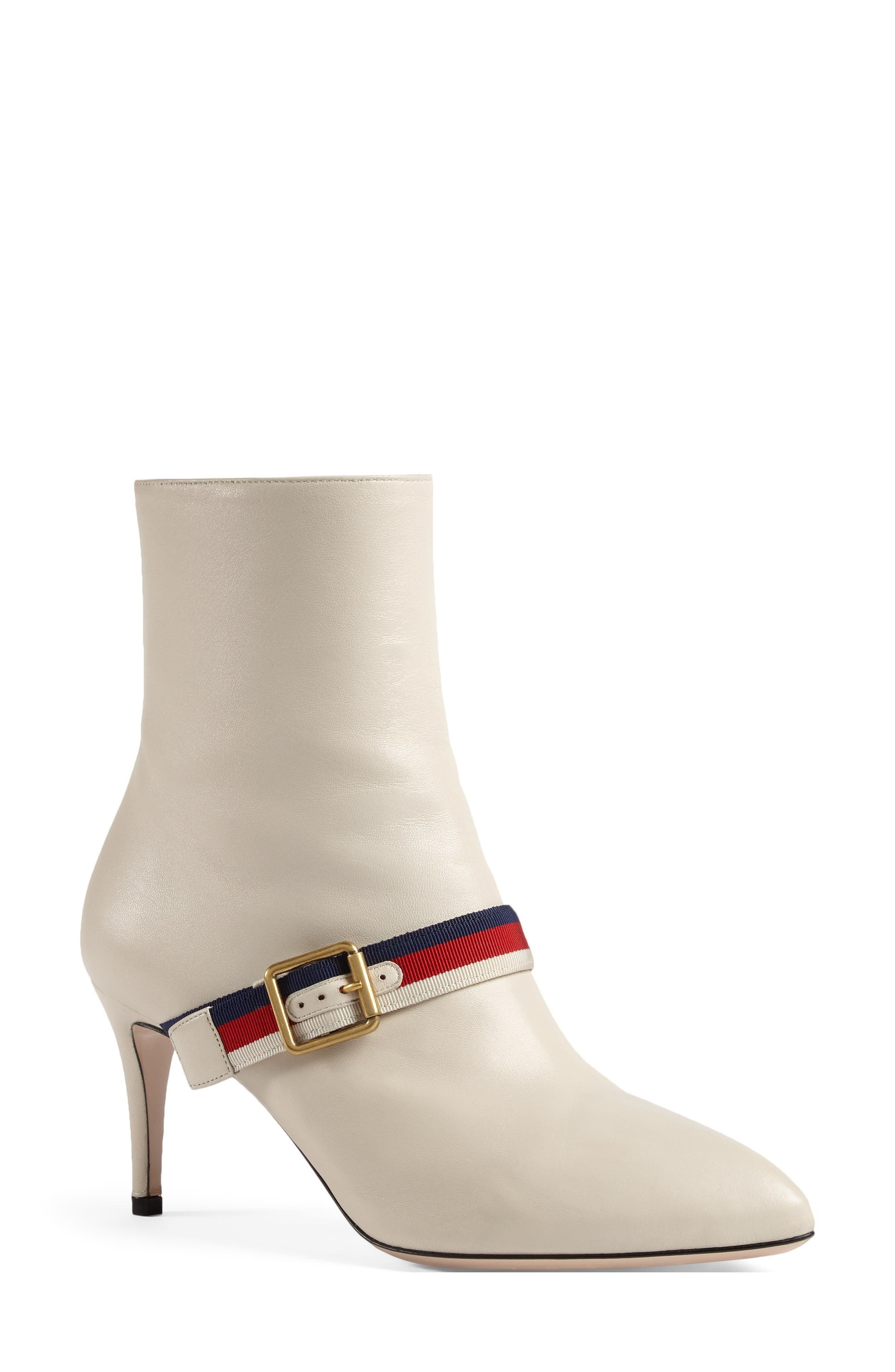 Alternate Image 2  - Gucci Sylvie Strap Ankle Boot (Women)
