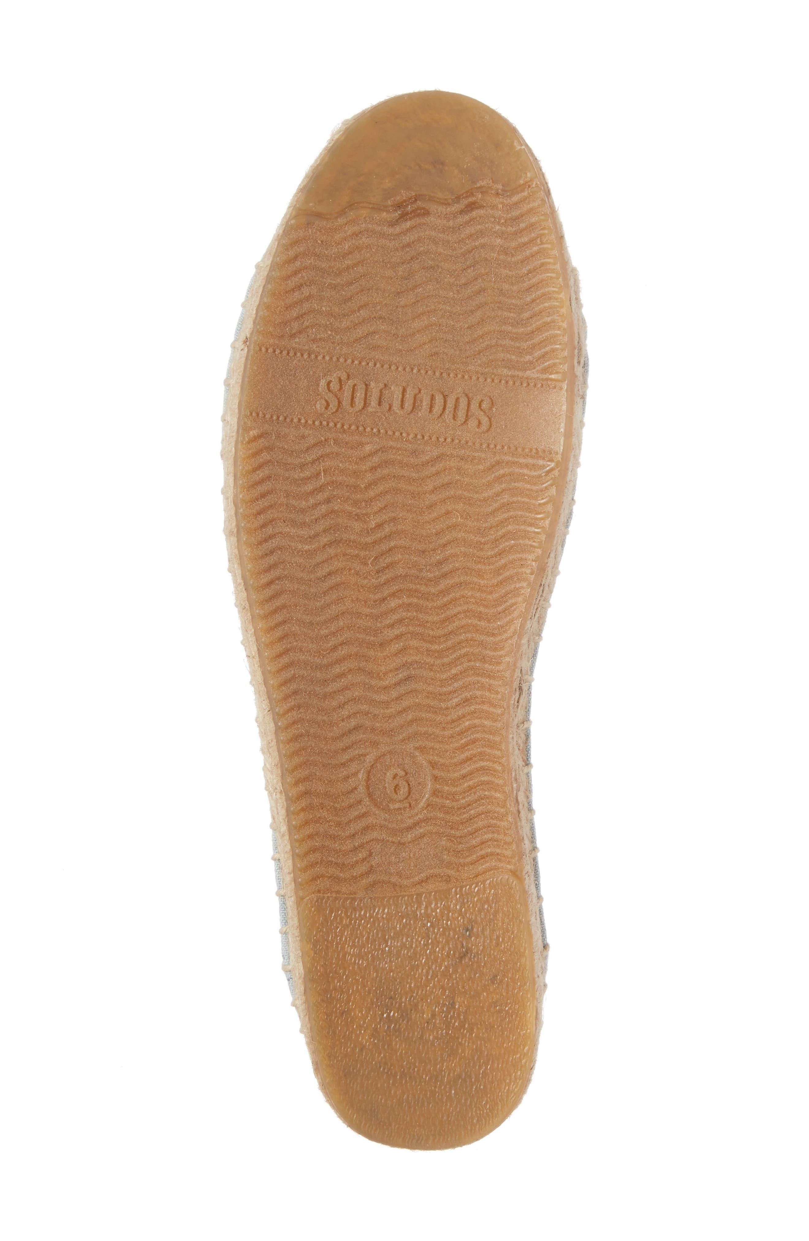 Alternate Image 6  - Soludos Ankle Tie Espadrille Flat (Women)