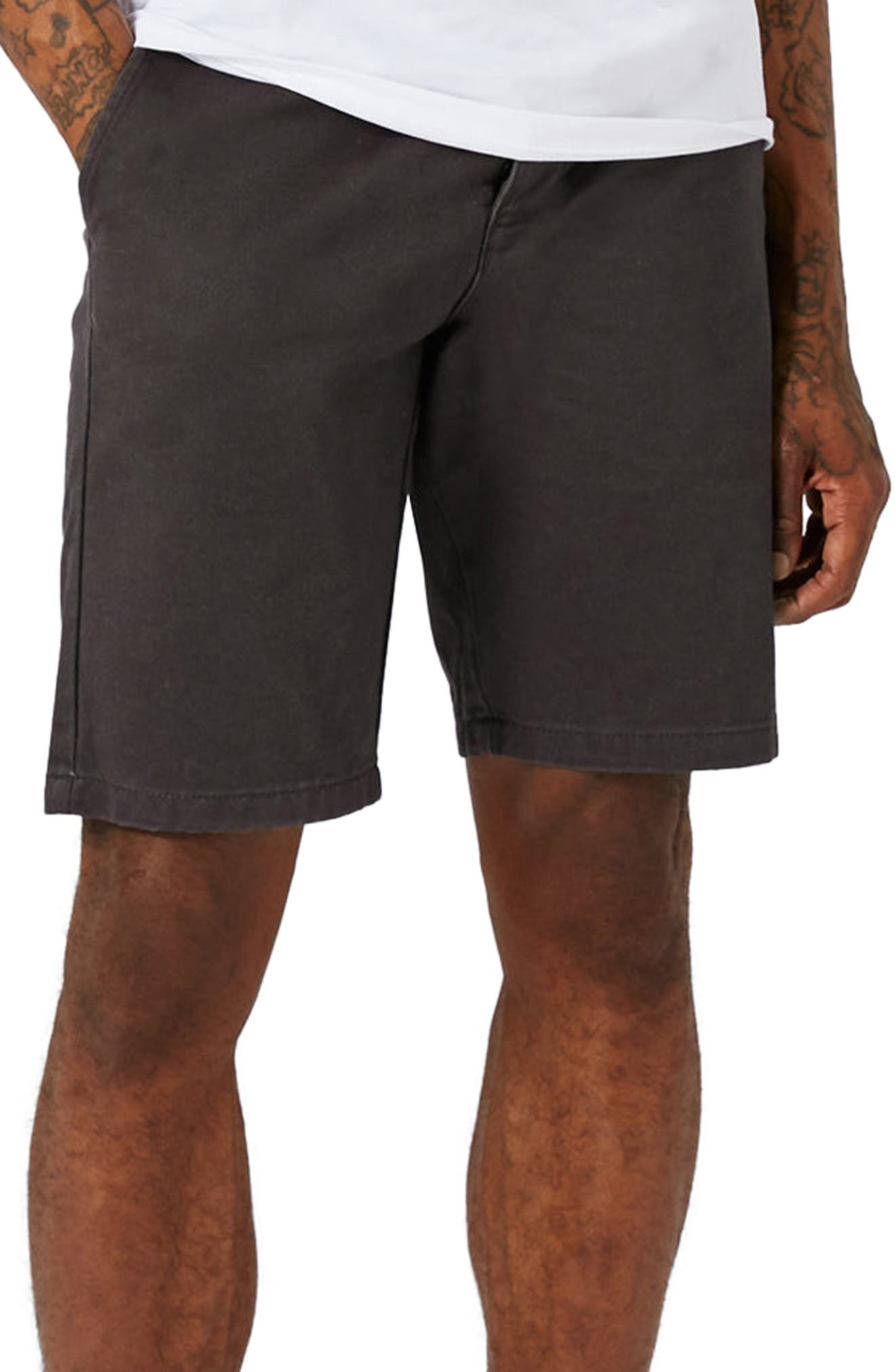 Topman Slim Fit Chino Shorts