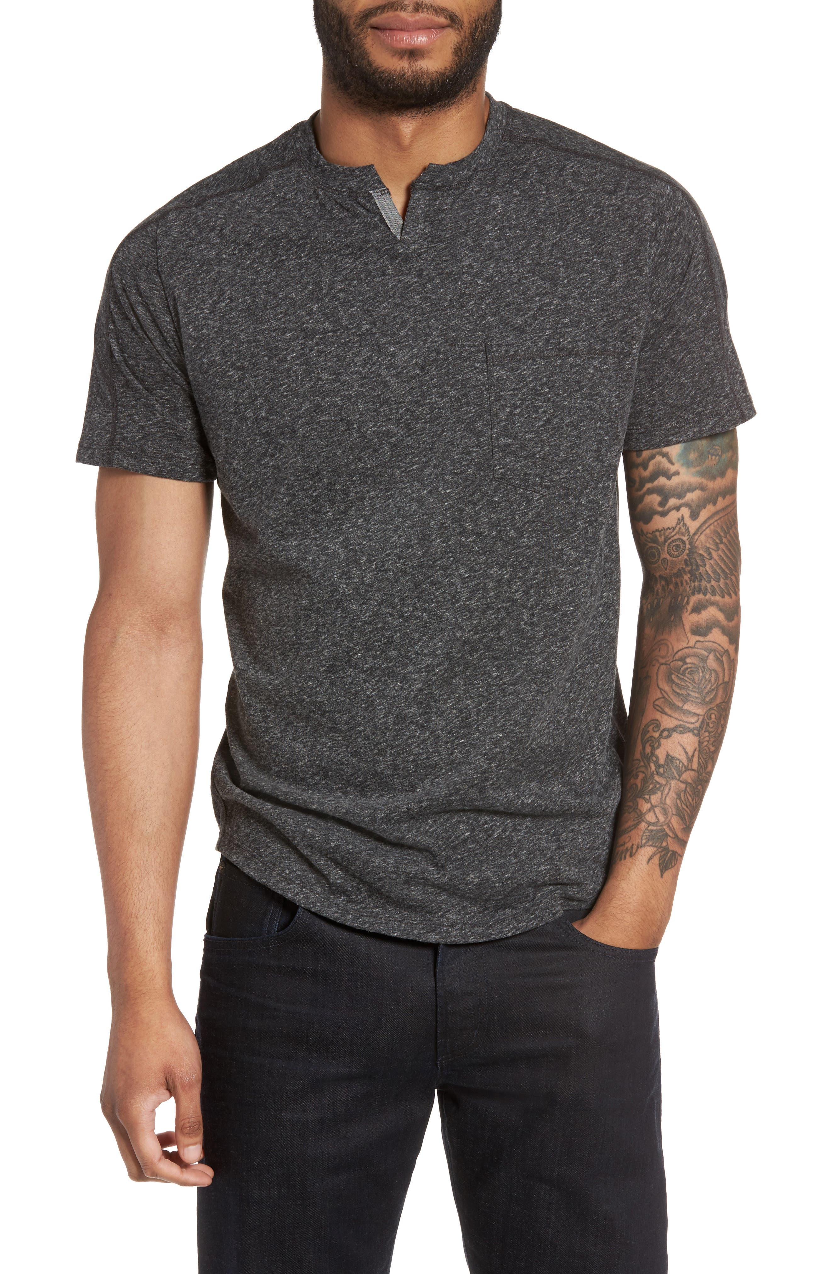 Good Man Brand Notch Neck T-Shirt