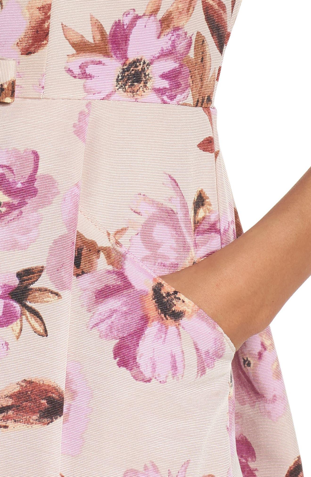 Alternate Image 4  - Taylor Dresses Fit & Flare Dress