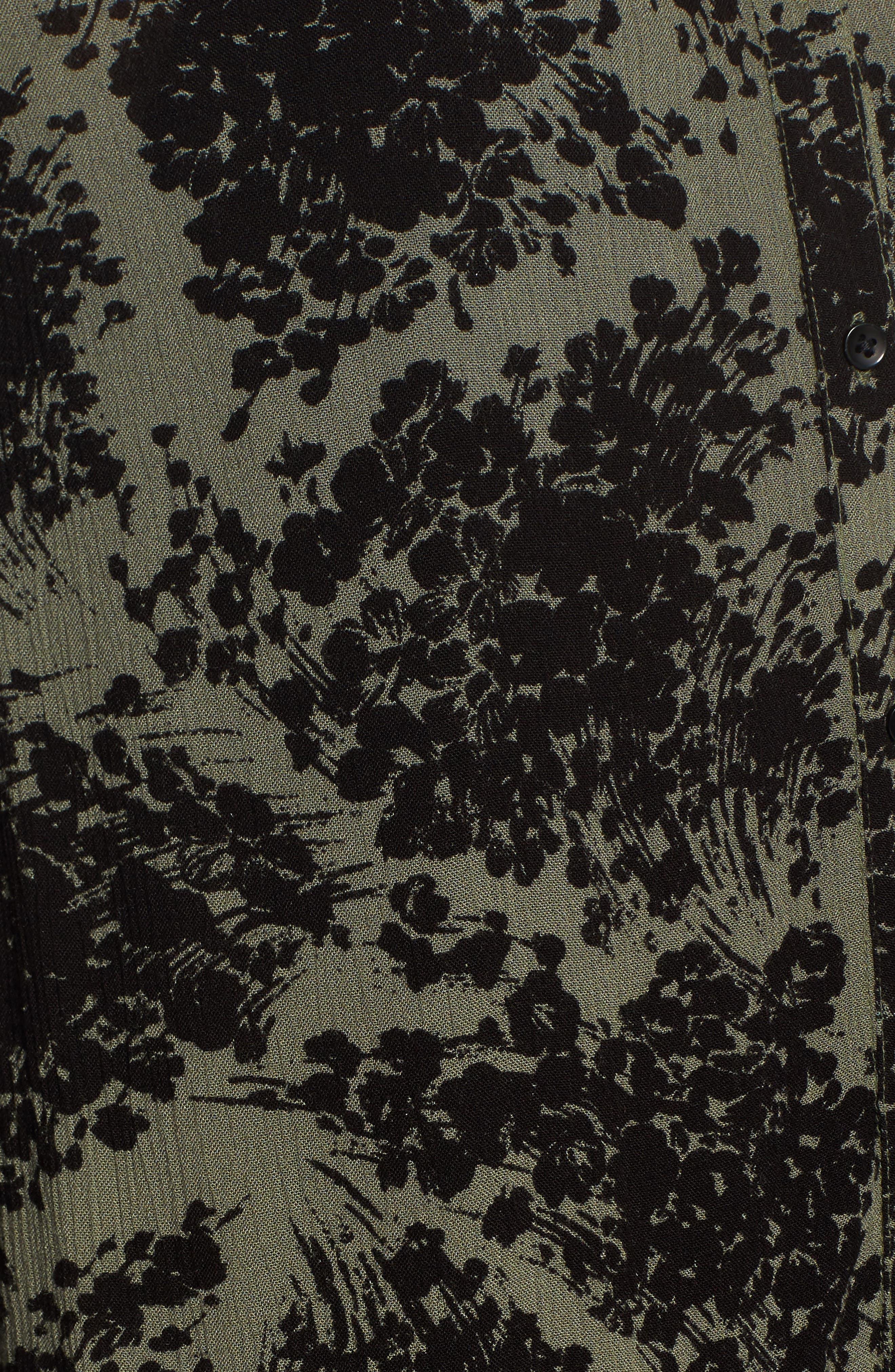 Alternate Image 5  - Hinge Button Front Dress