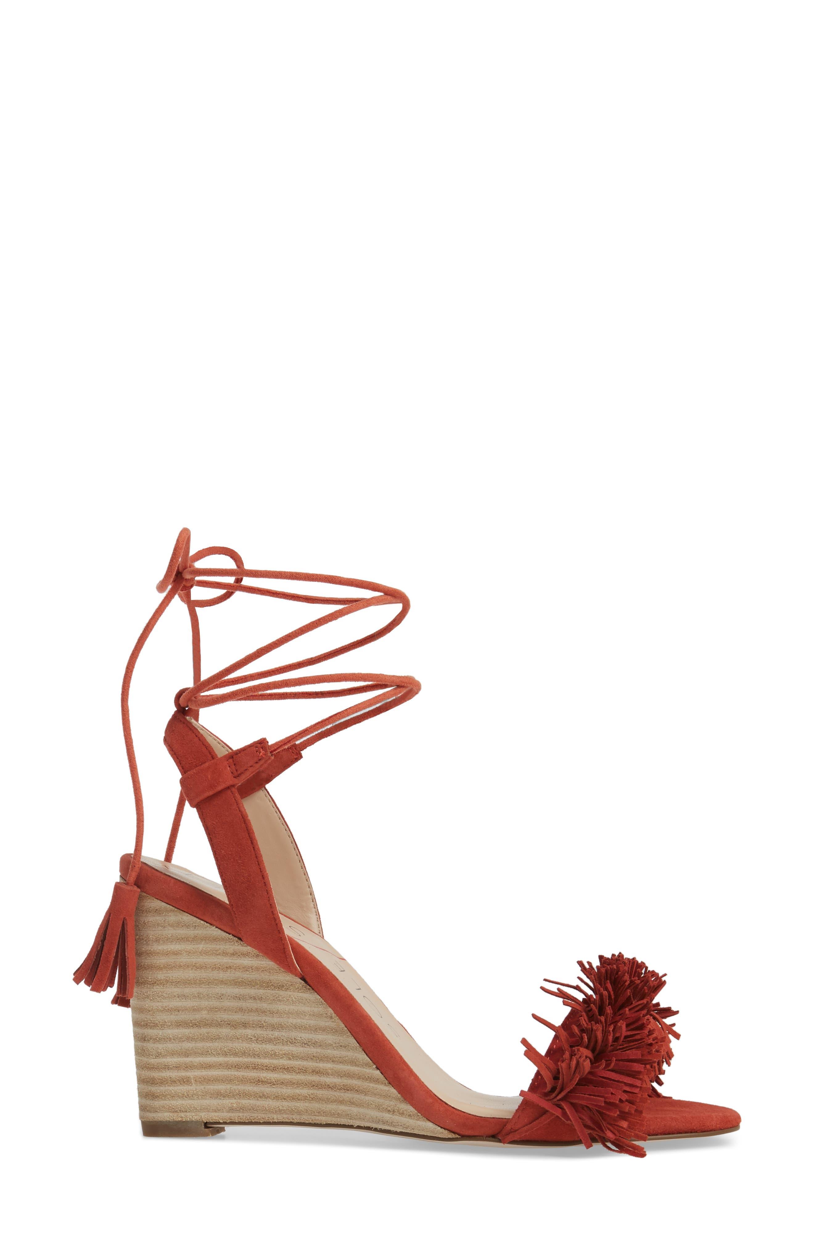 Alternate Image 3  - Sole Society Rosea Ankle Wrap Sandal (Women)