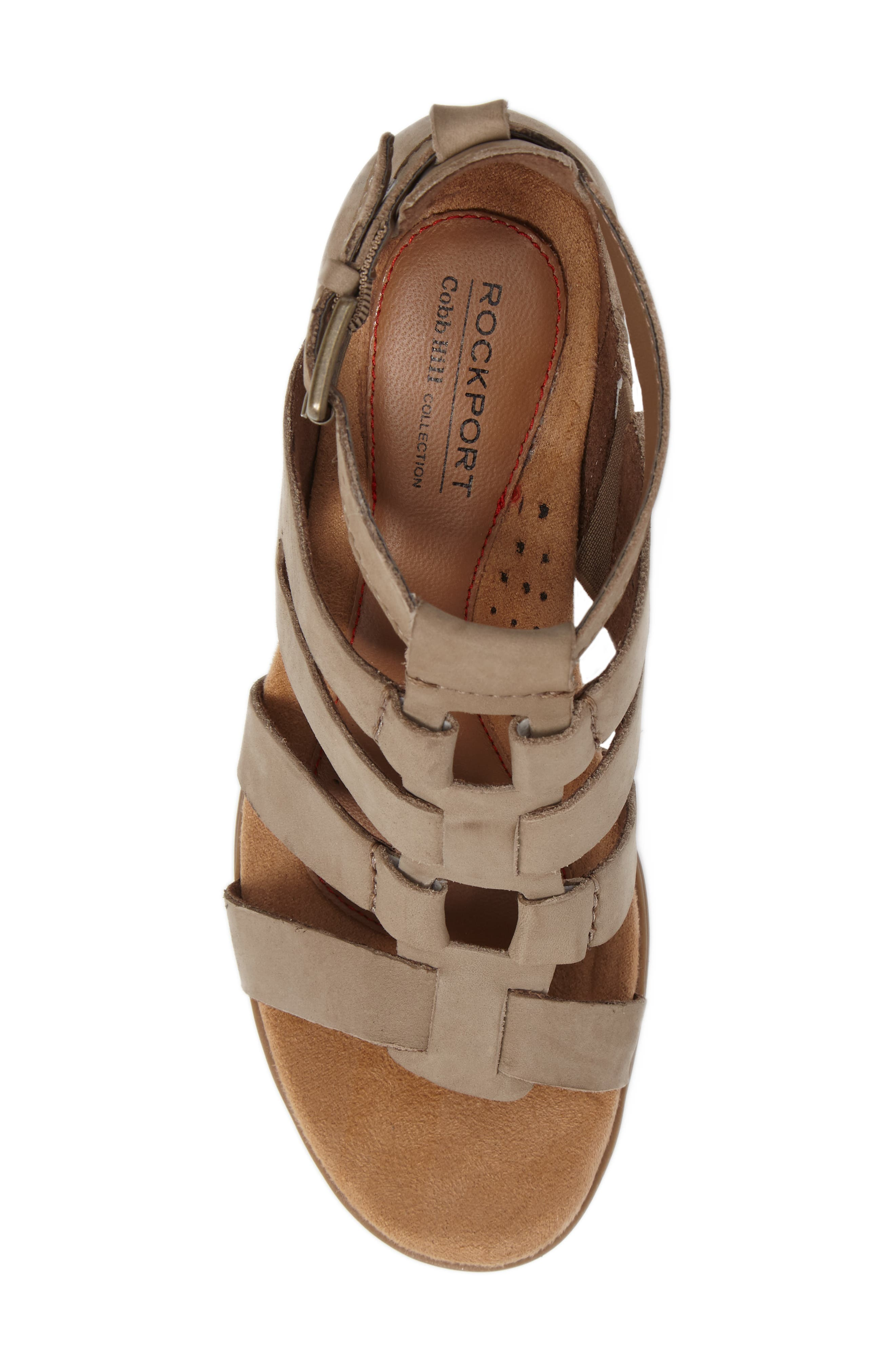 Alternate Image 5  - Rockport Cobb Hill Hattie Block Heel Gladiator Sandal (Women)