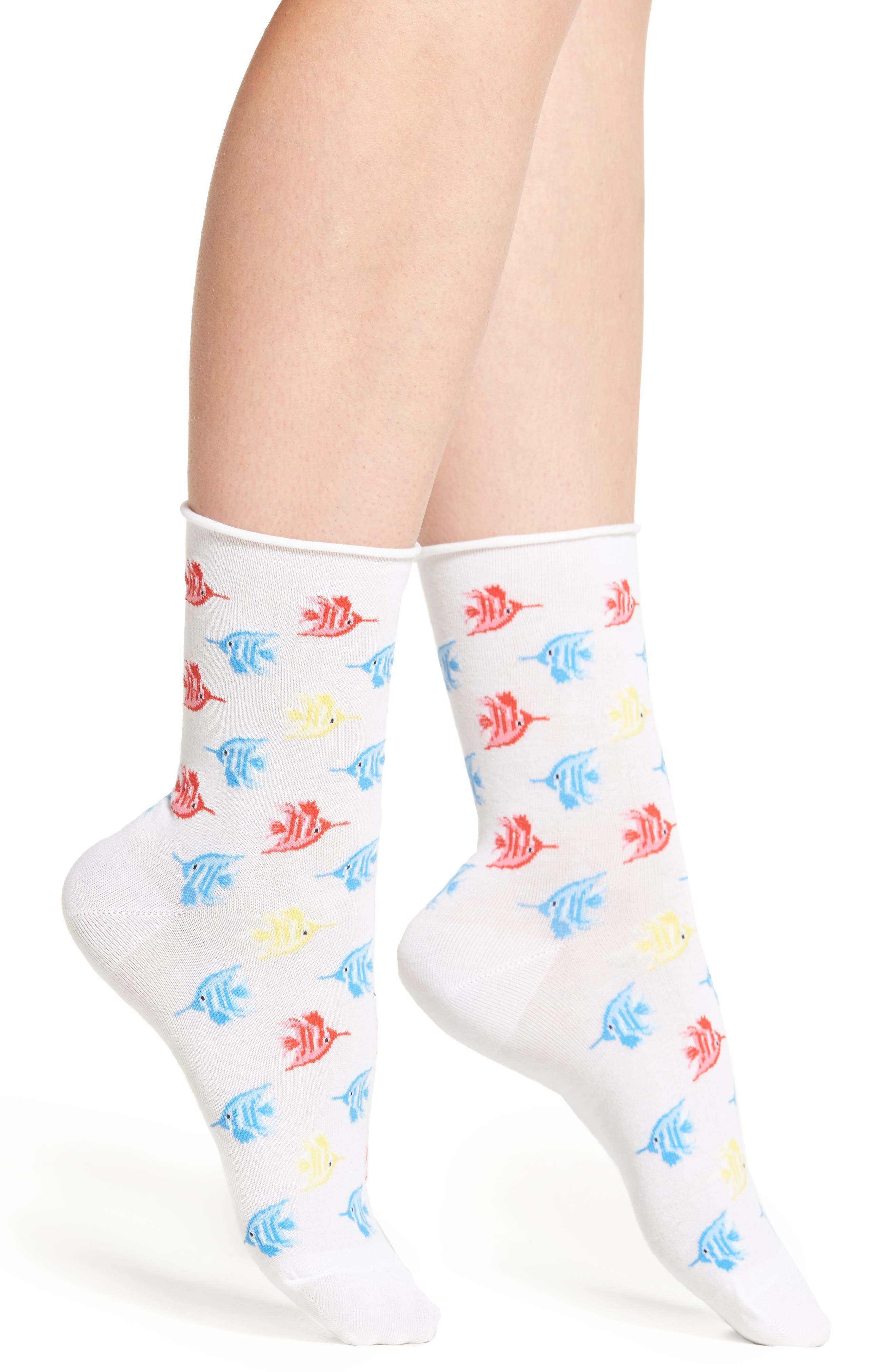 Hue Tropical Fish Socks