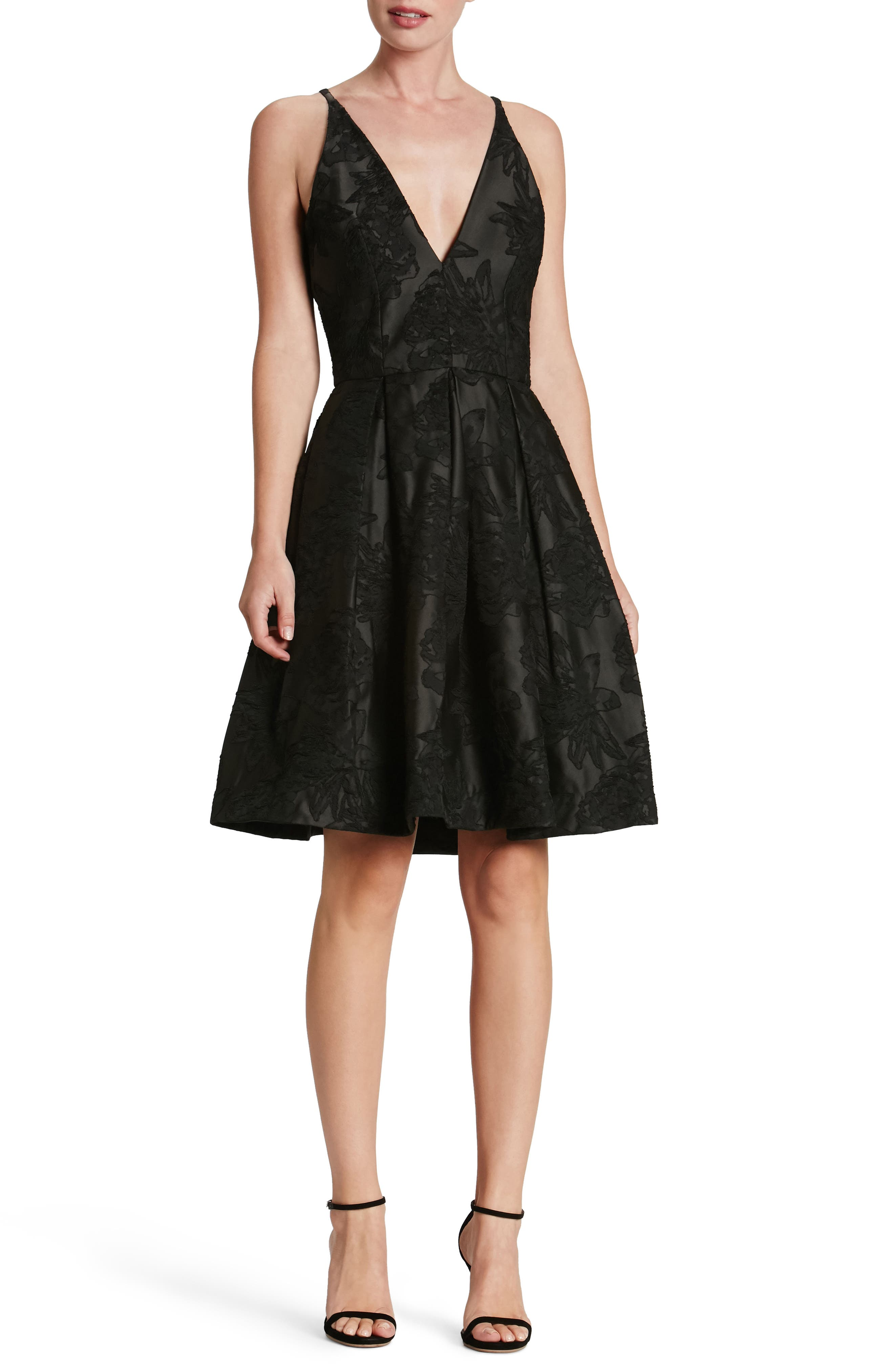 Dress the Population Collette Fit & Flare Dress