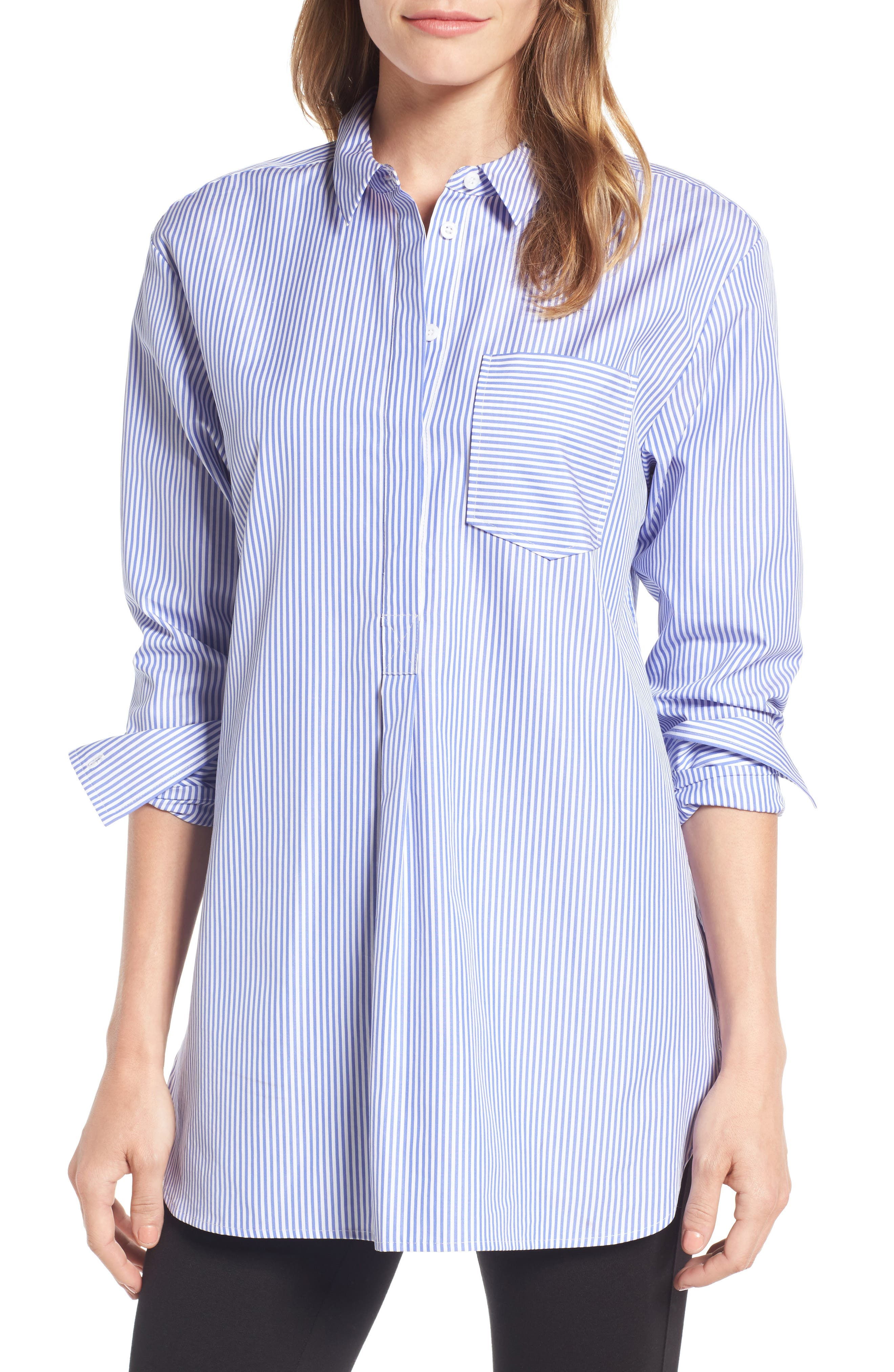 Nordstrom Signature Mixed Stripe Shirt