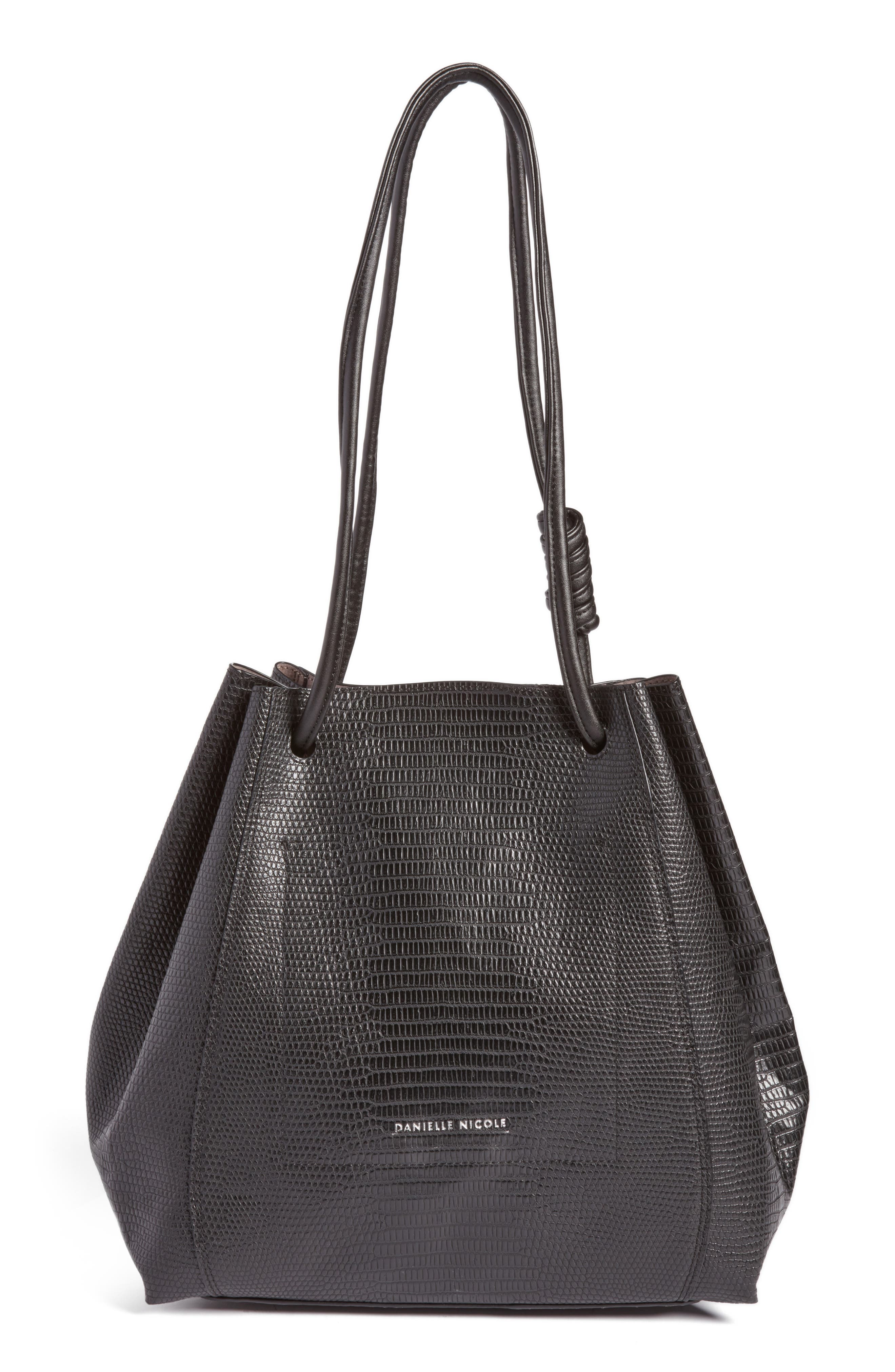 Danielle Nicole Hutton Embossed Faux Leather Tote