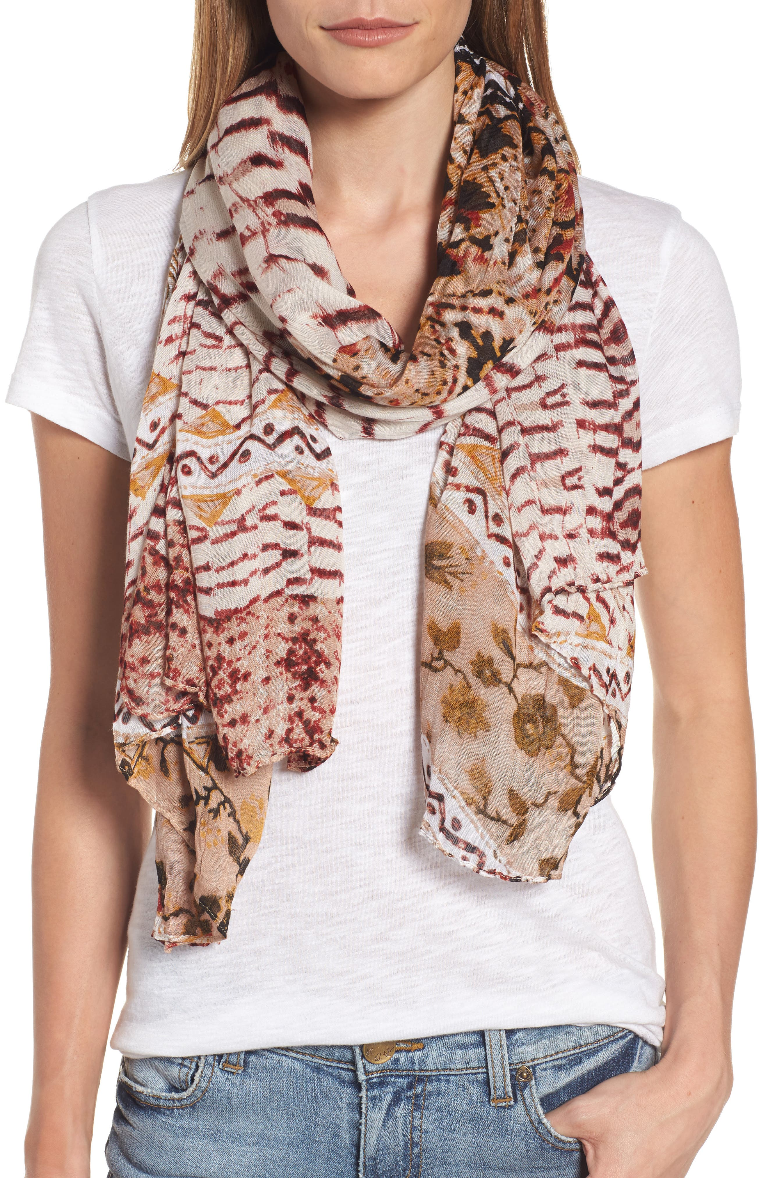 Caslon® Twilight Tapestry Wrap