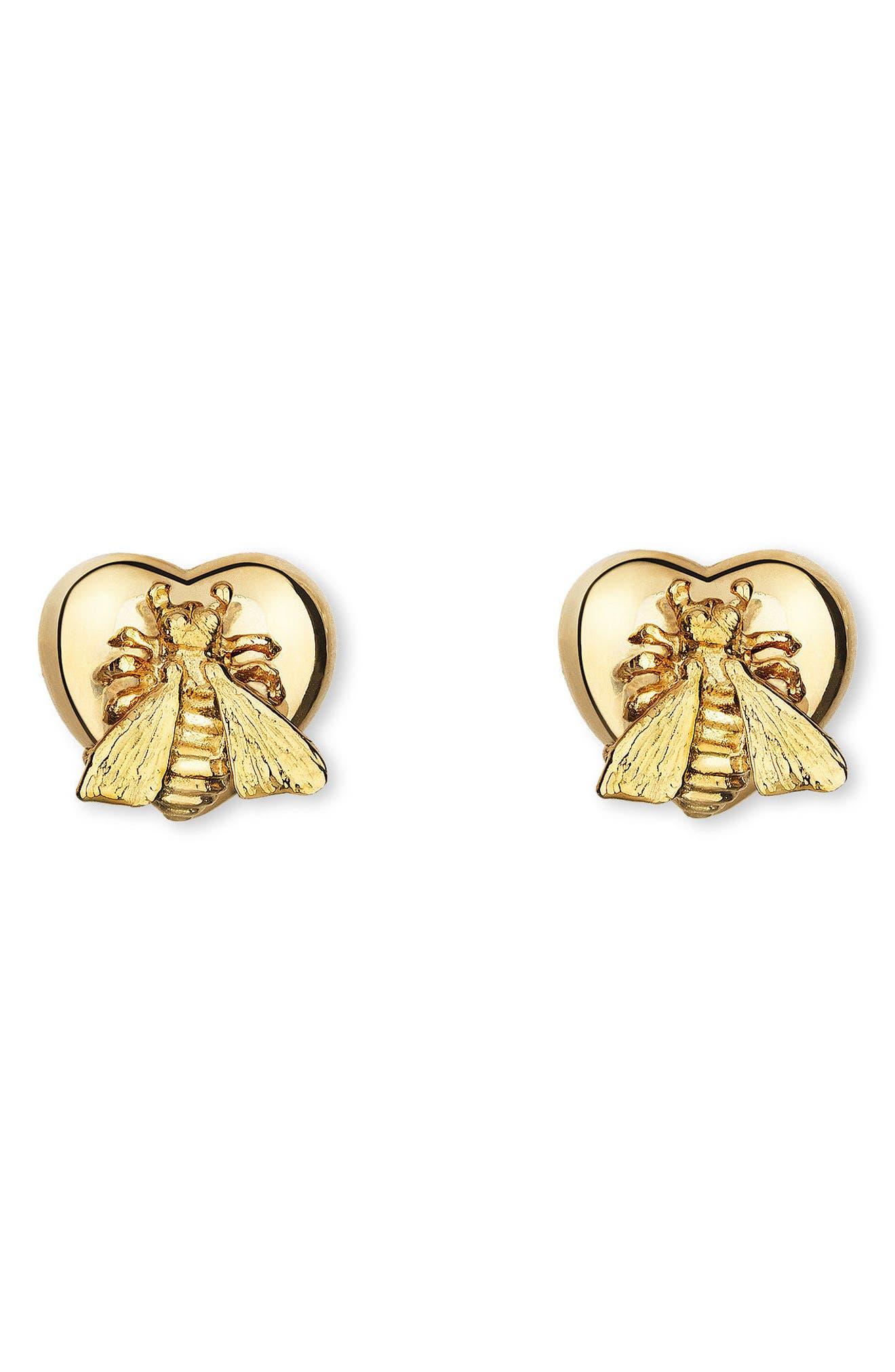Alternate Image 1 Selected - Gucci Le Marché des Merveilles Stud Earrings