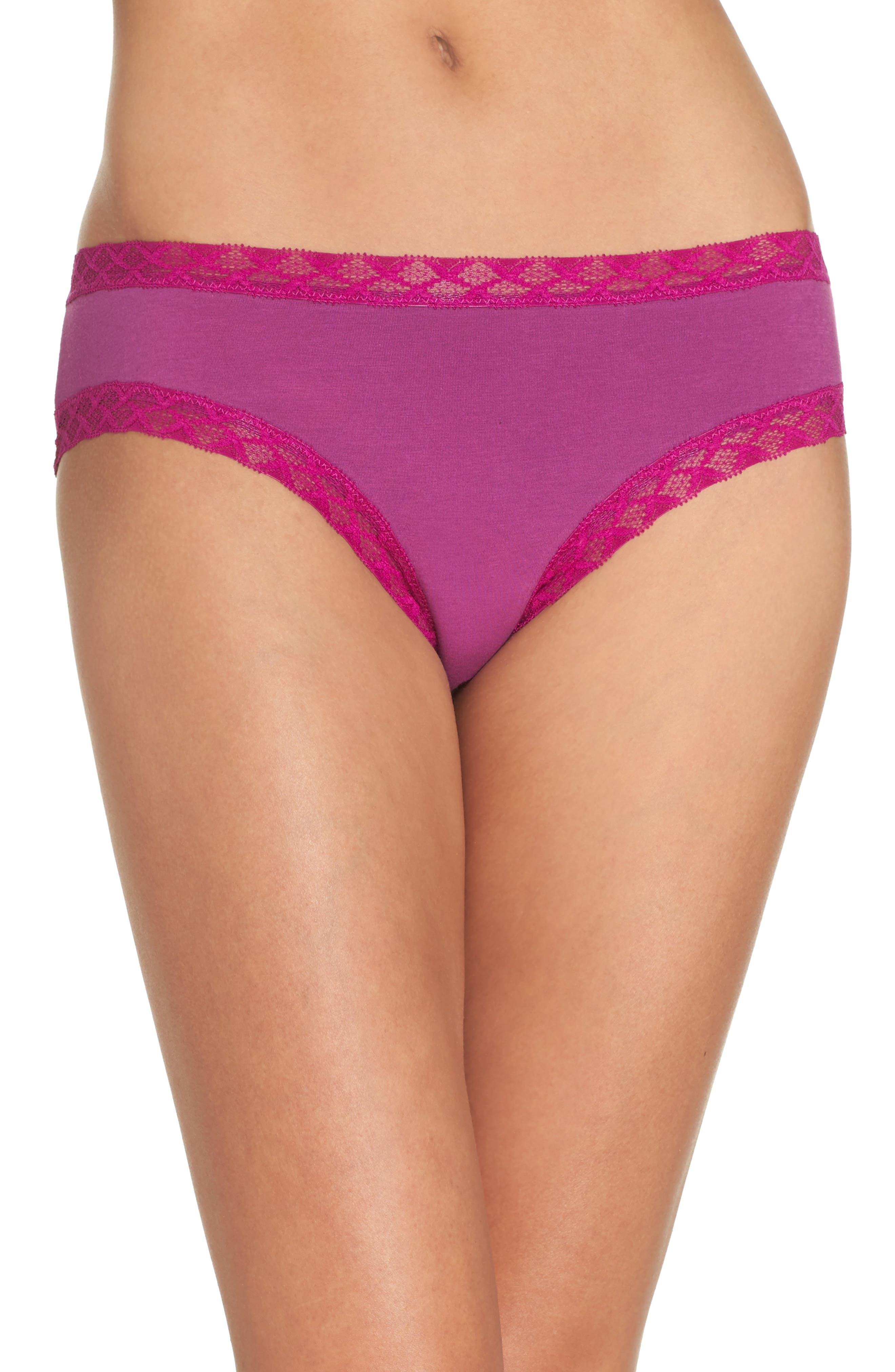 Main Image - Natori Bliss Cotton Girl Briefs (3 for $36)