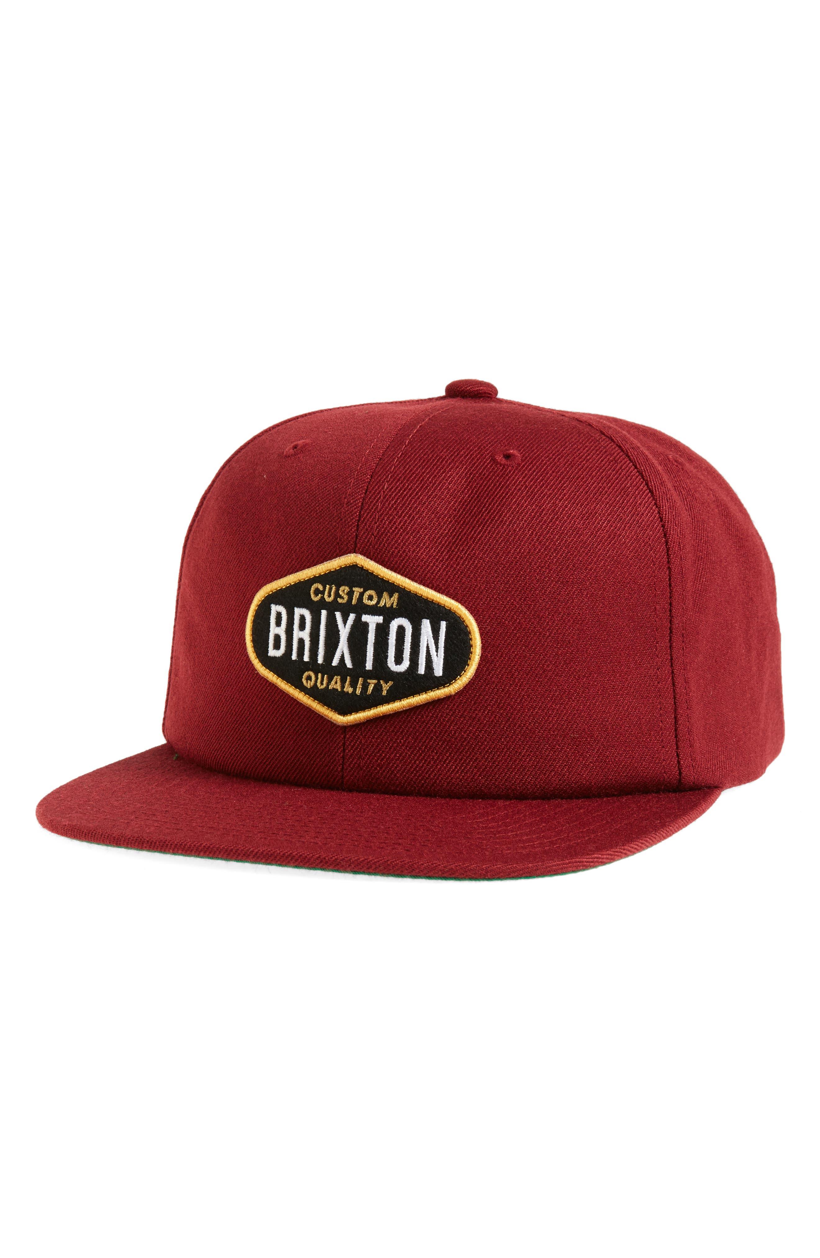 Brixton Oakland Snapback Cap